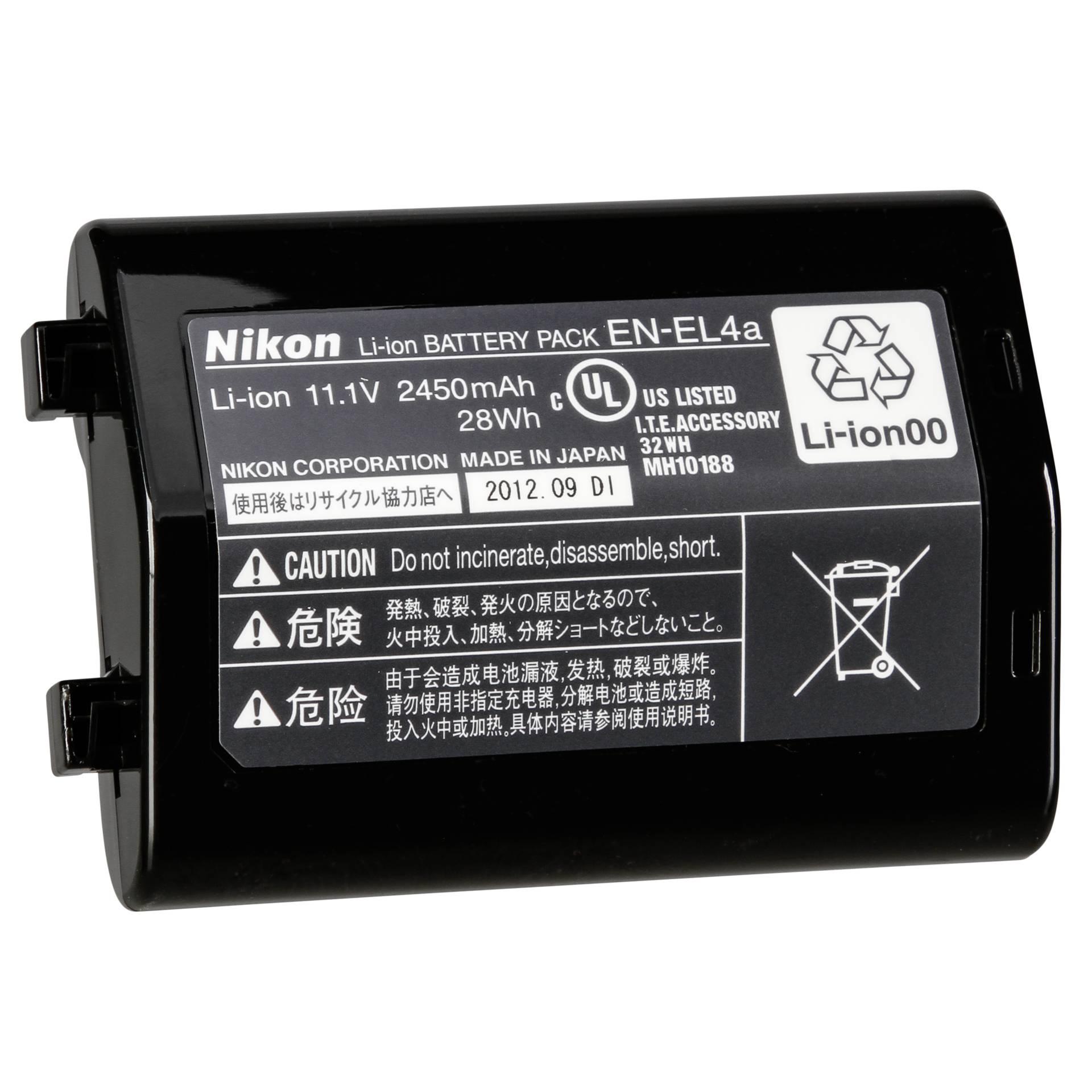 Nikon EN-EL4a Lithium-Ionen Akku