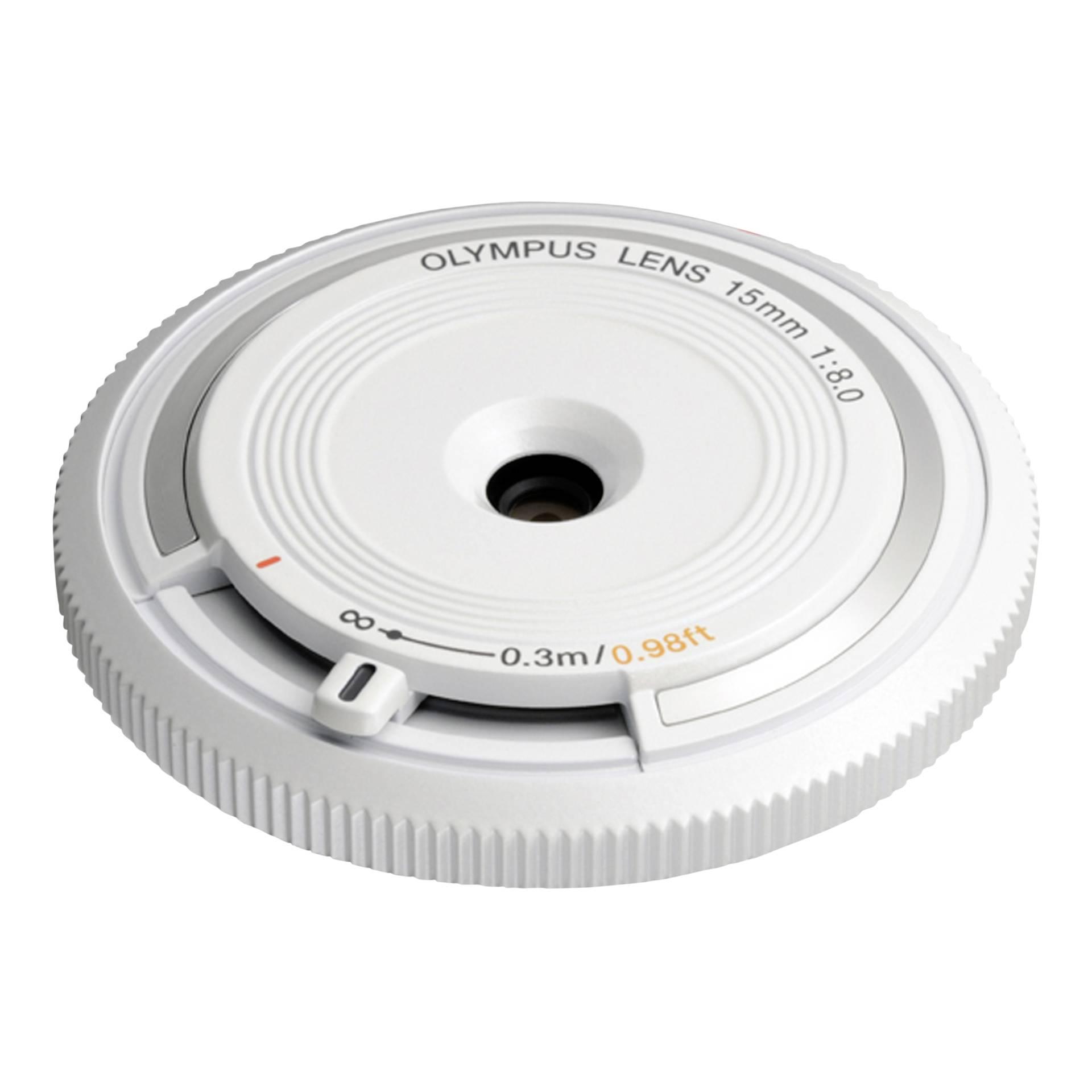 Olympus BCL-1580 Body Cap Lens weiß
