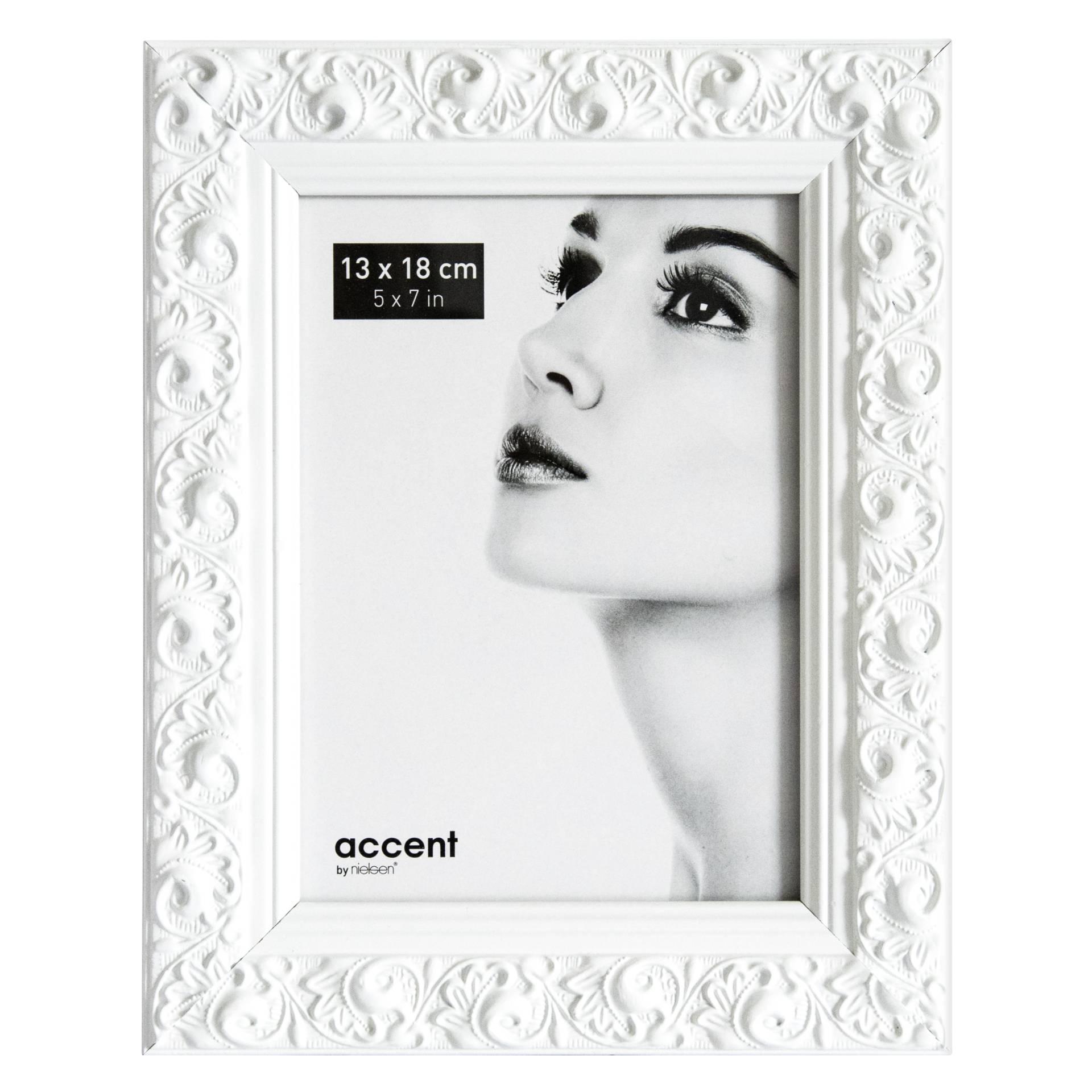 Nielsen Arabesque          13x18 Holz Portrait weiß       8532001