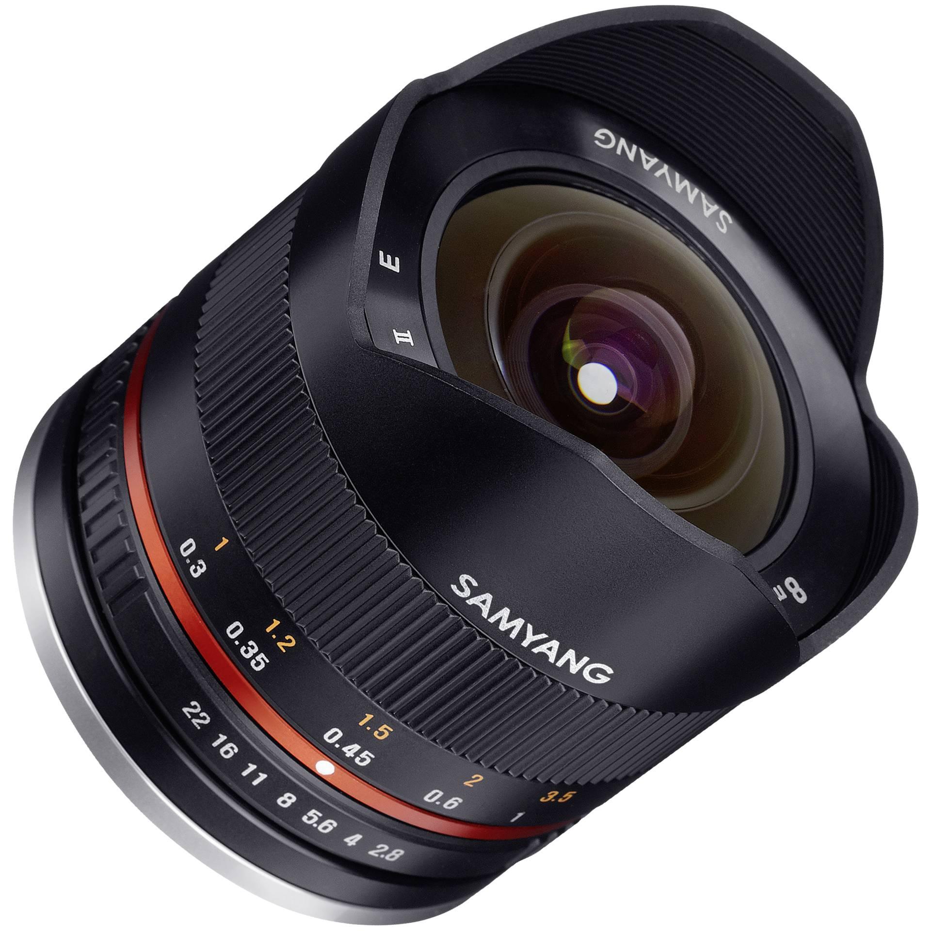 Samyang F 2,8/8 Fish-Eye II schwarz Fuji X