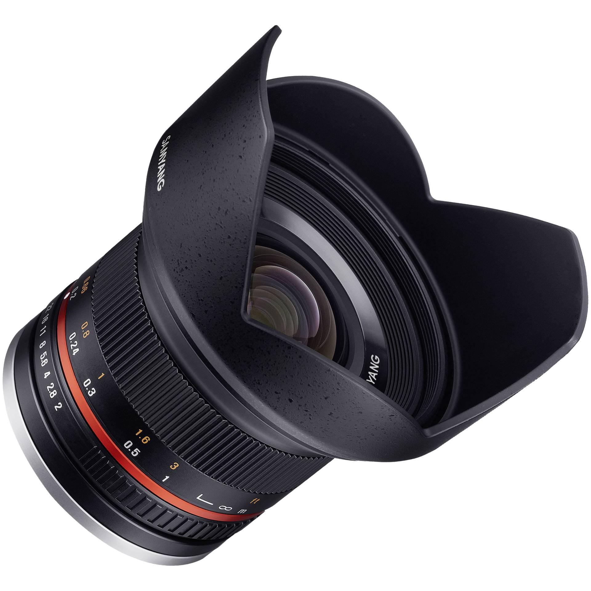 Samyang F  2,0/12 NCS CS  Sony E schwarz