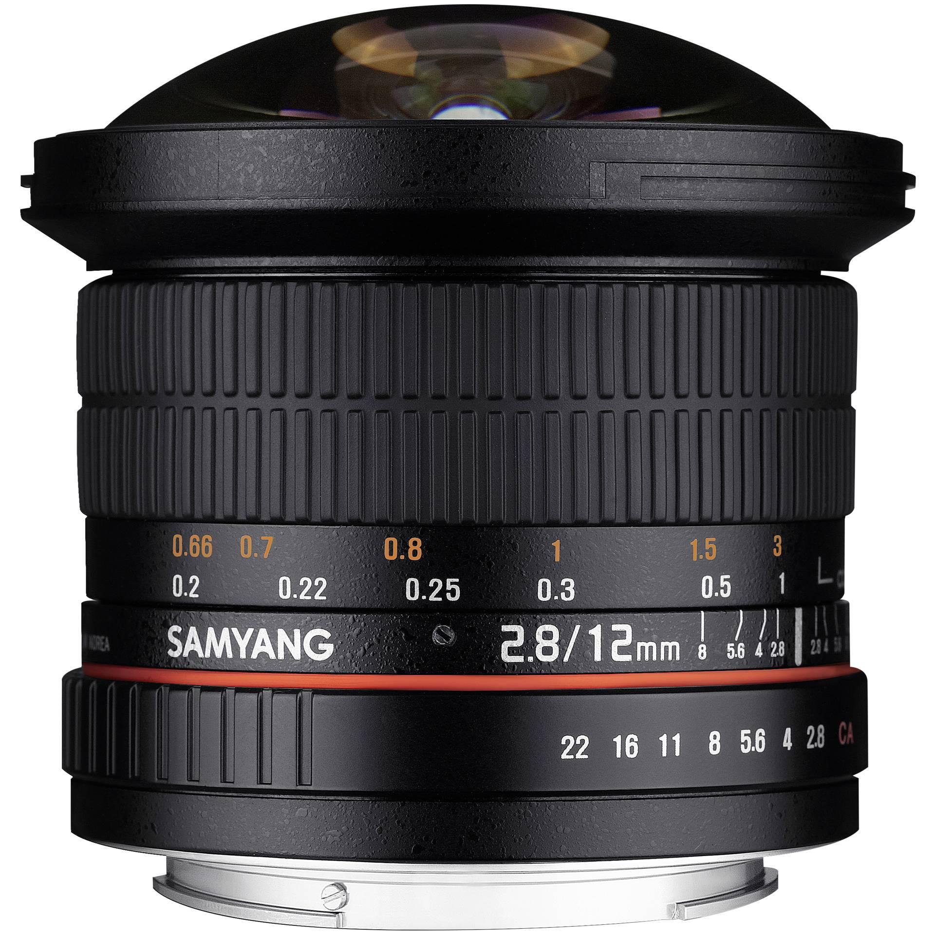 Samyang F 2,8/12 ED Fish-Eye AS NCS Canon