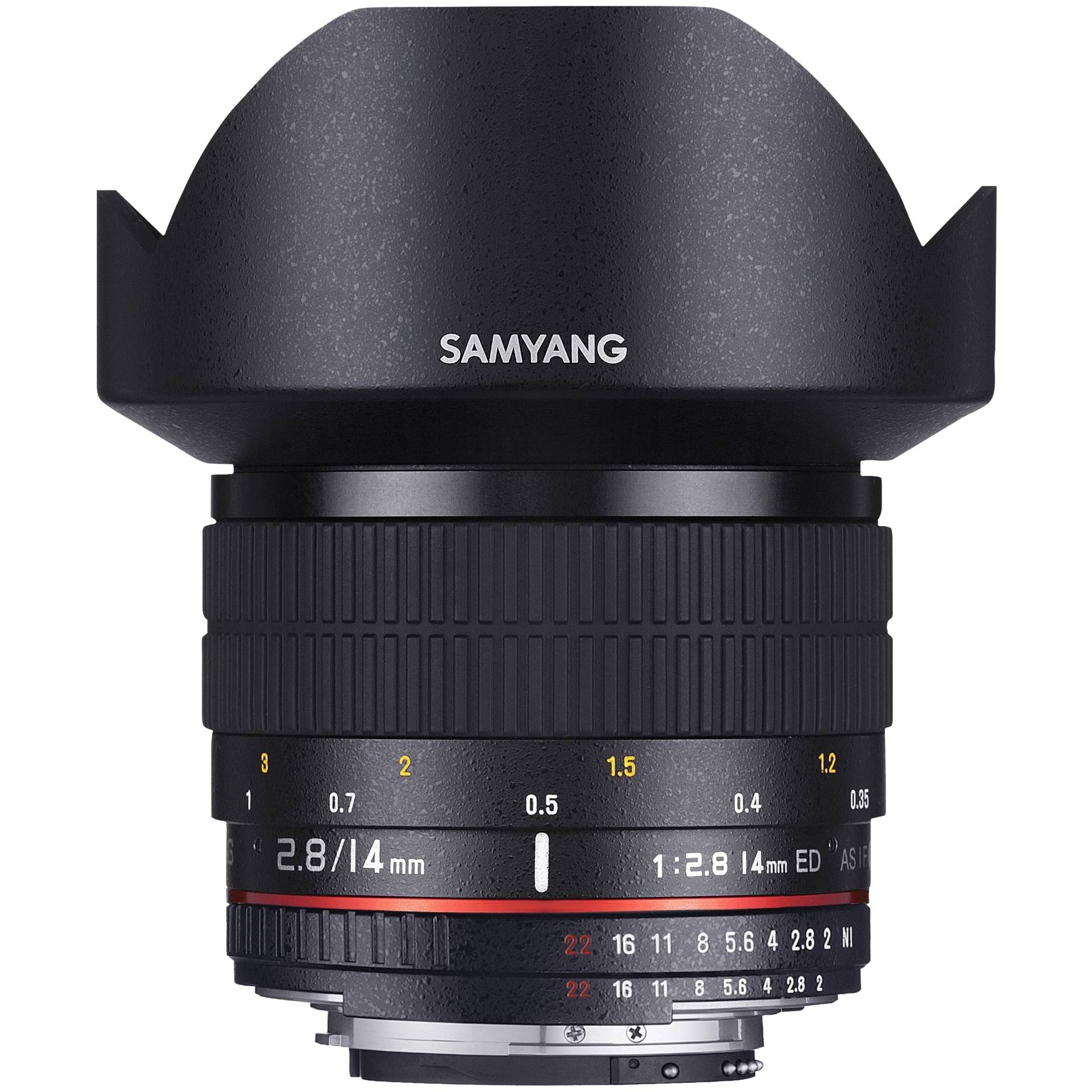 Samyang F 2,8/14 ED AS IF UMC Canon