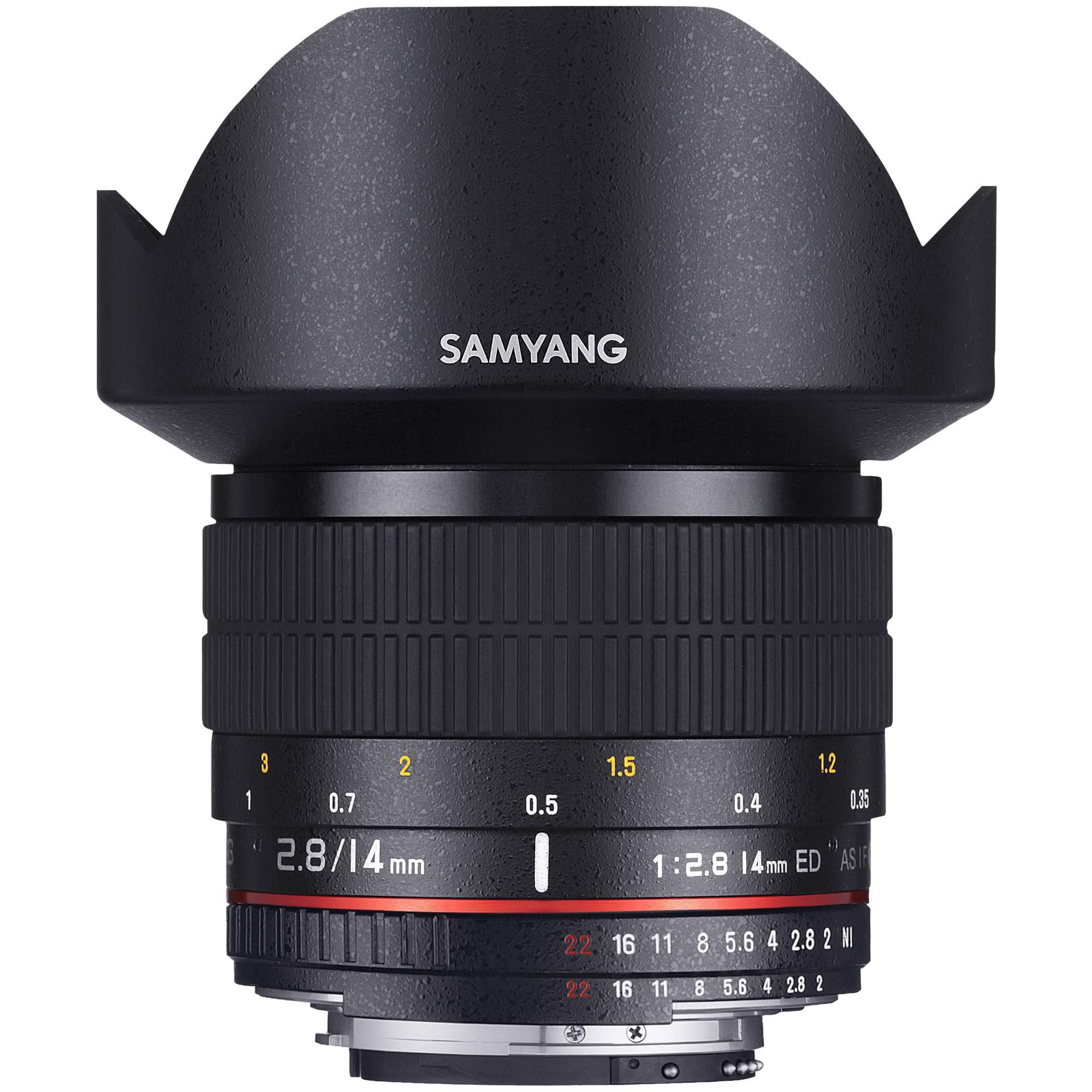 Samyang F 2,8/14 ED AS IF UMC Nikon AE