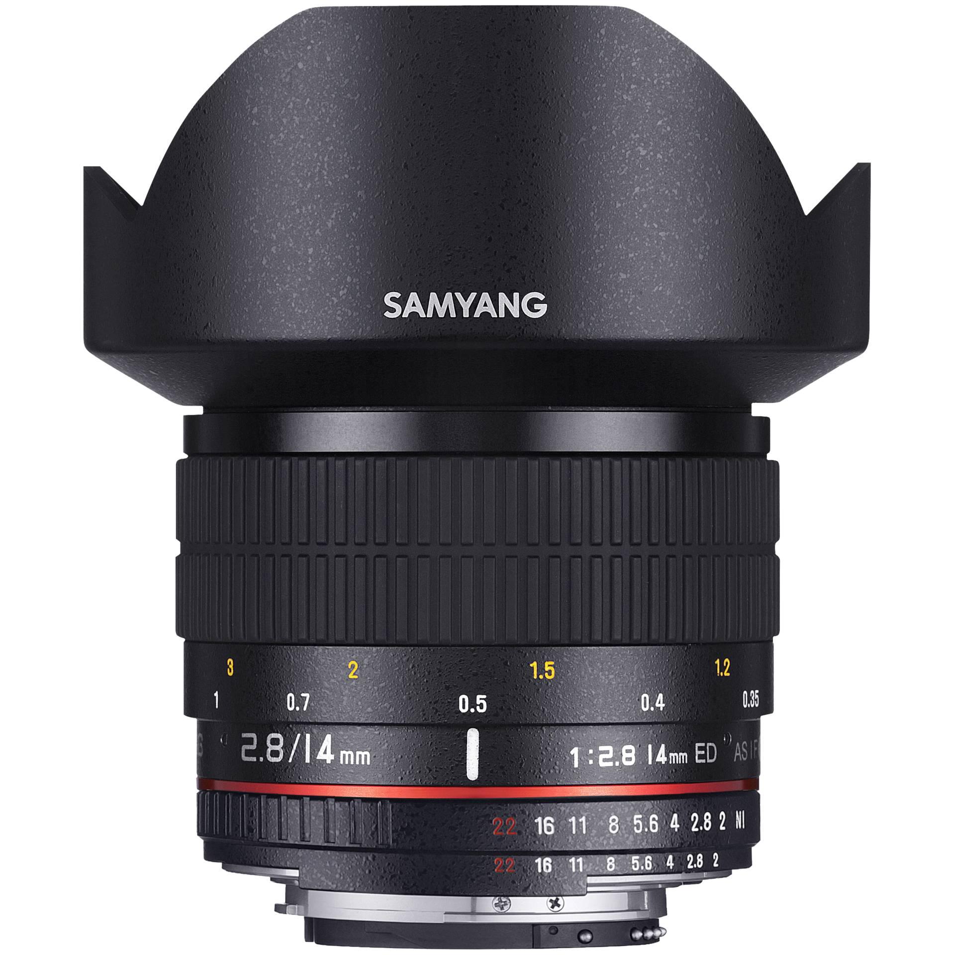 Samyang F 2,8/14 ED AS IF UMC Sony E-Mount