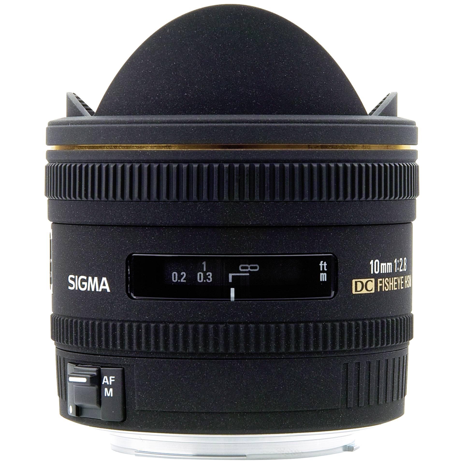 Sigma EX 2,8/10 fisheye DC HSM SI/AF