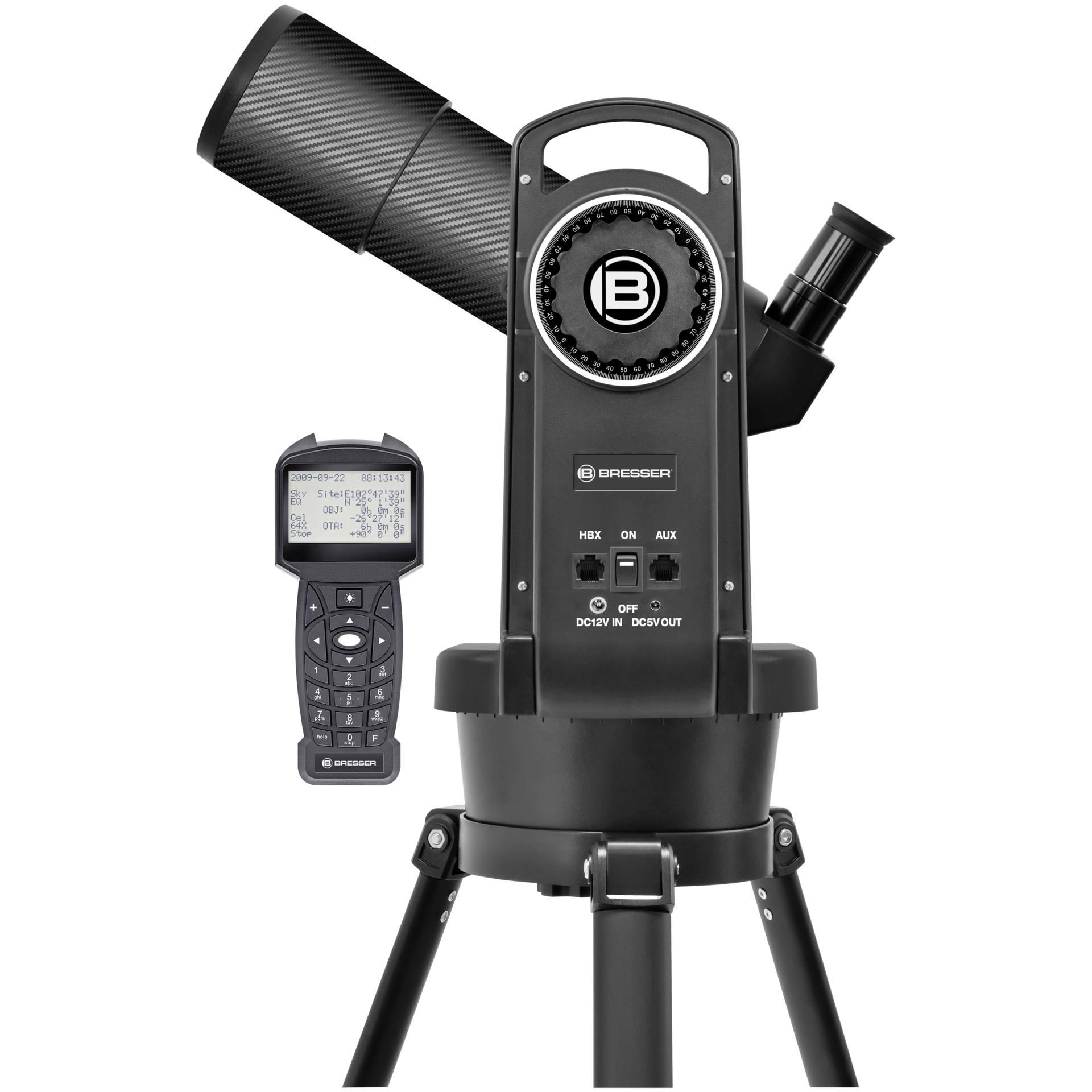 Bresser Refraktor Teleskop 80/400 Goto