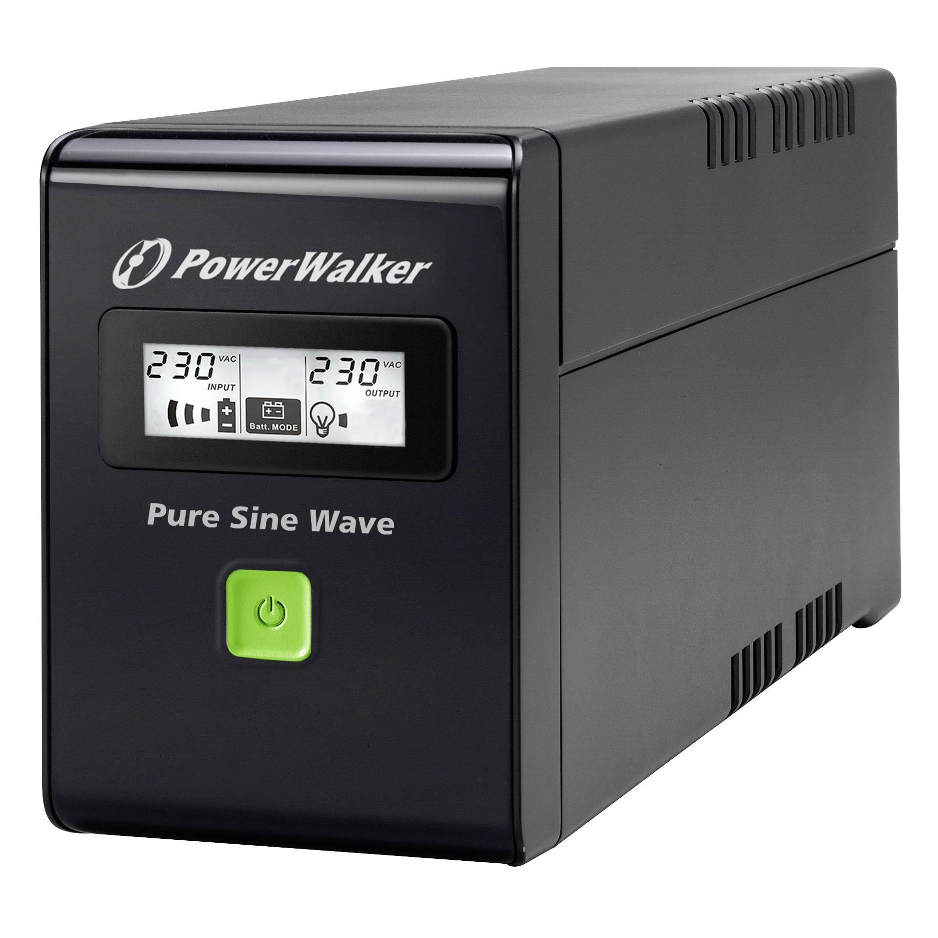 PowerWalker VI 600 SW Schutzkontakt CEE 7/3 (Typ F)