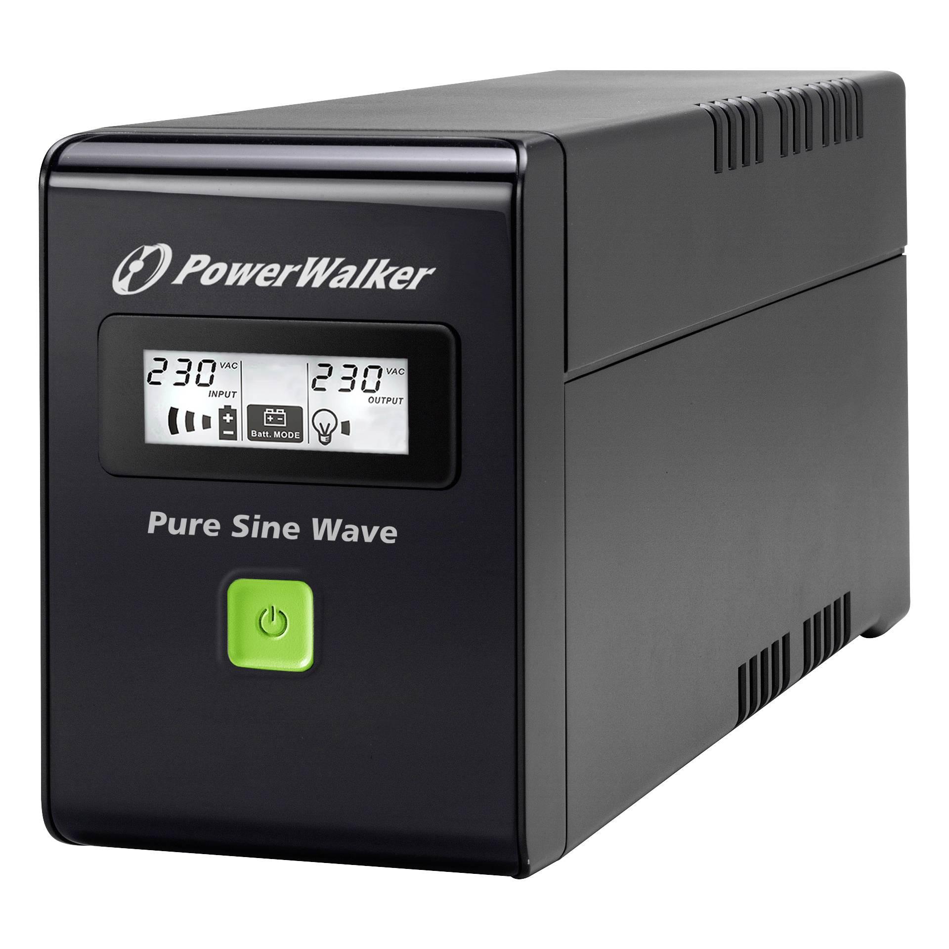 PowerWalker VI 800 SW Schutzkontakt CEE 7/3 (Typ F)