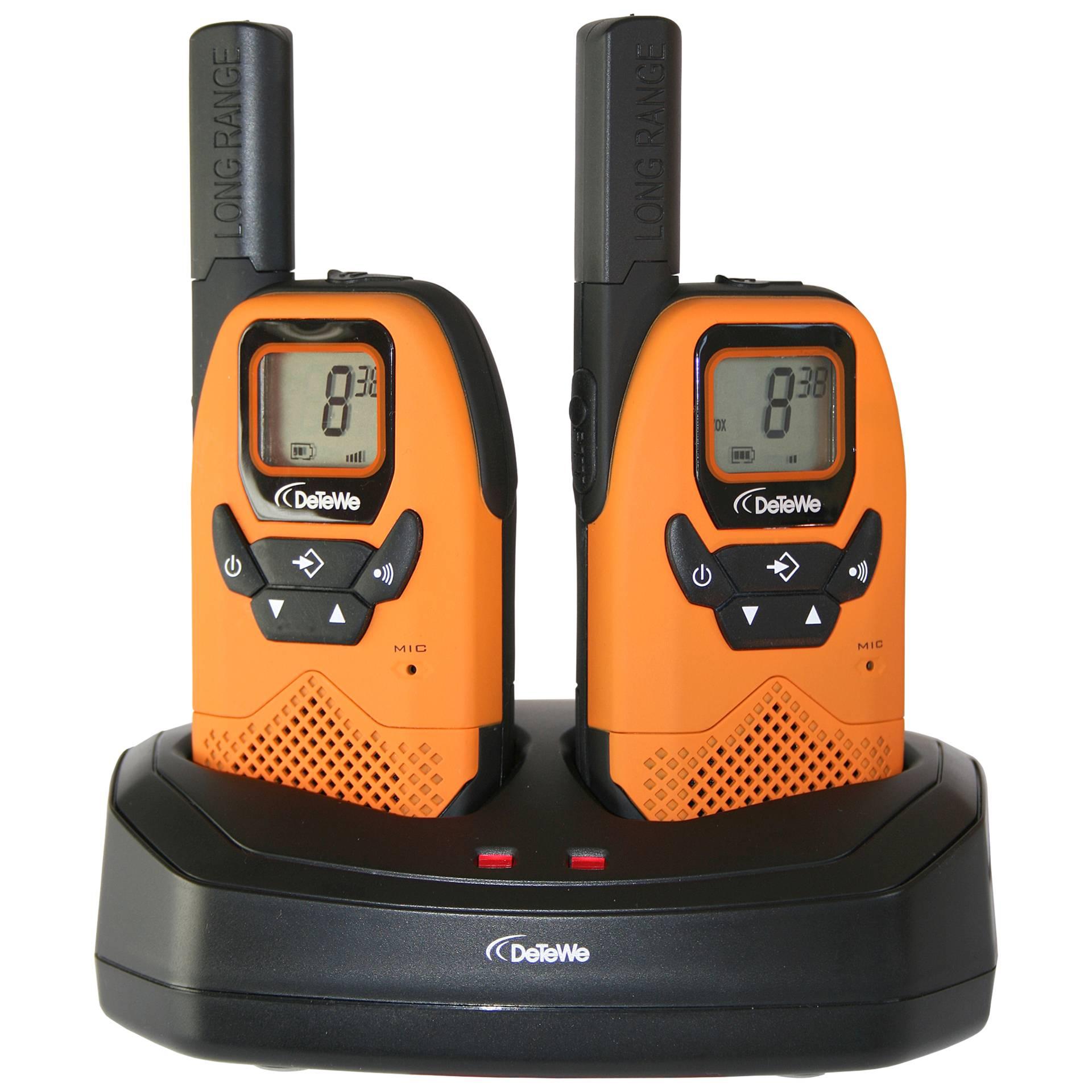 DeTeWe Outdoor 8000 Duo Case PMR-Funkgerät