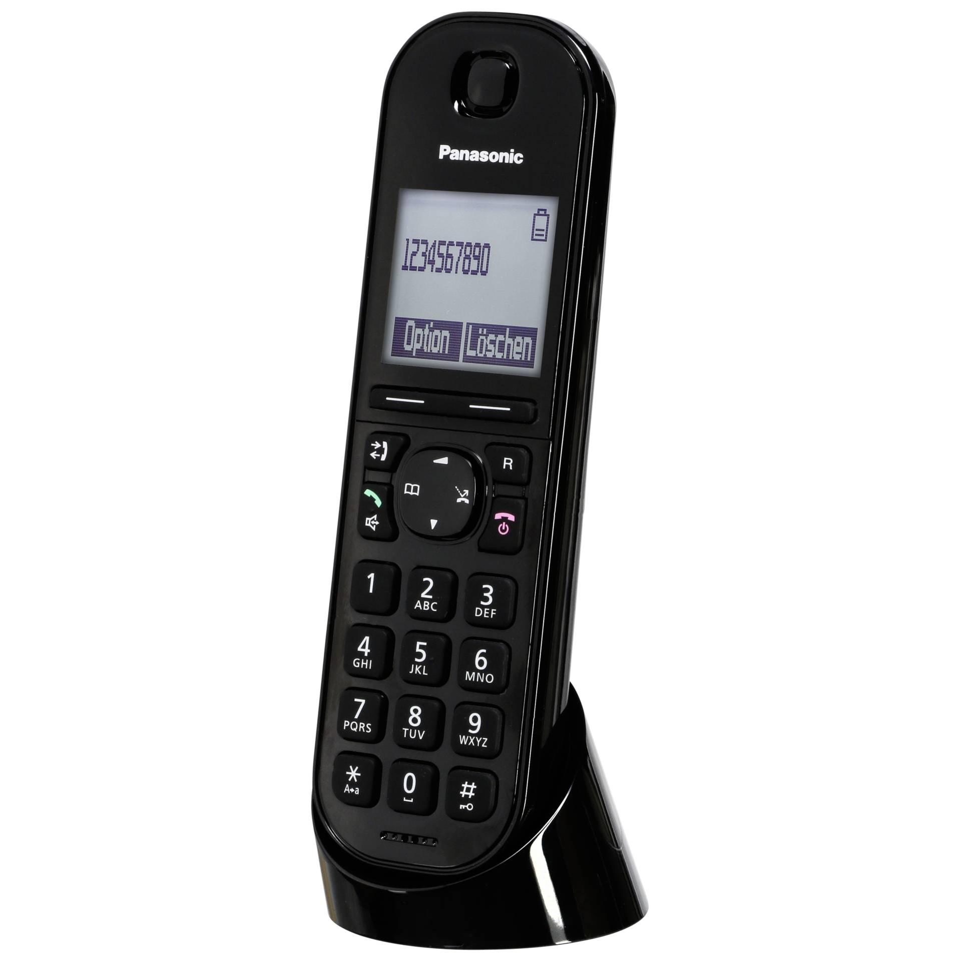 Panasonic KX-TGQ200GB schwarz