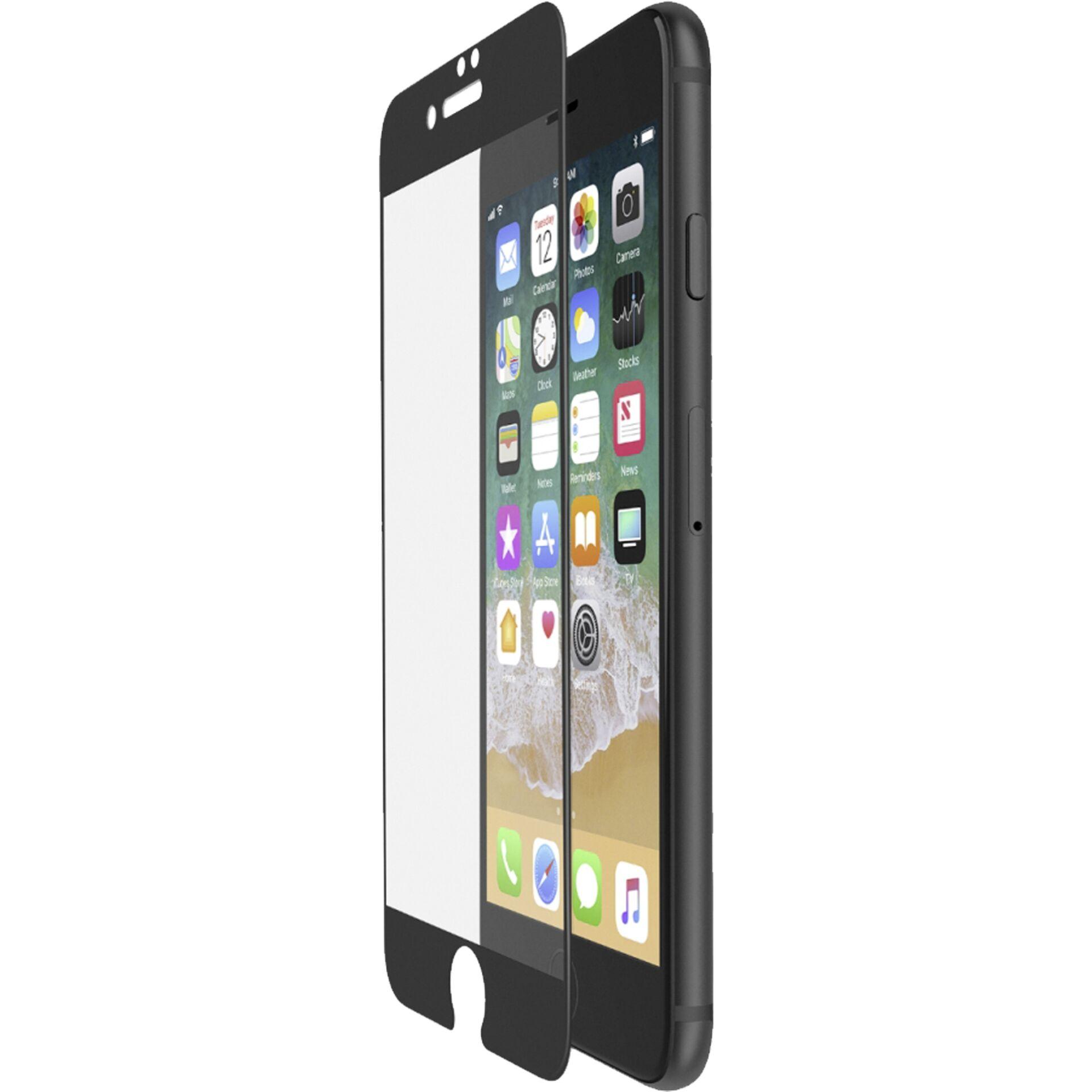 Belkin Displayschutzfolie Curve Edge to Edge iPhone 7+8 Plus sw.
