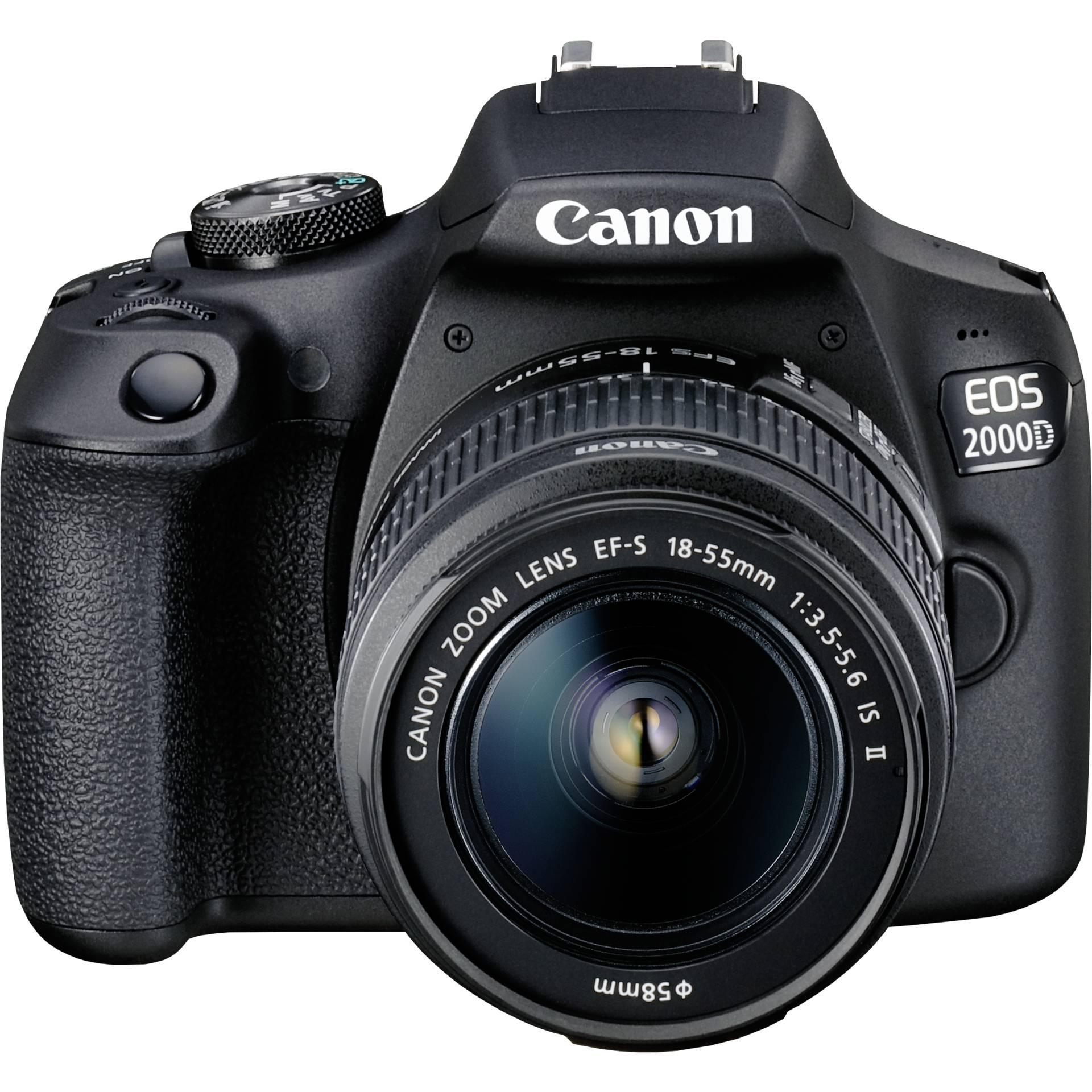 Canon EOS 2000D Kit + EF-S 18-55 IS II