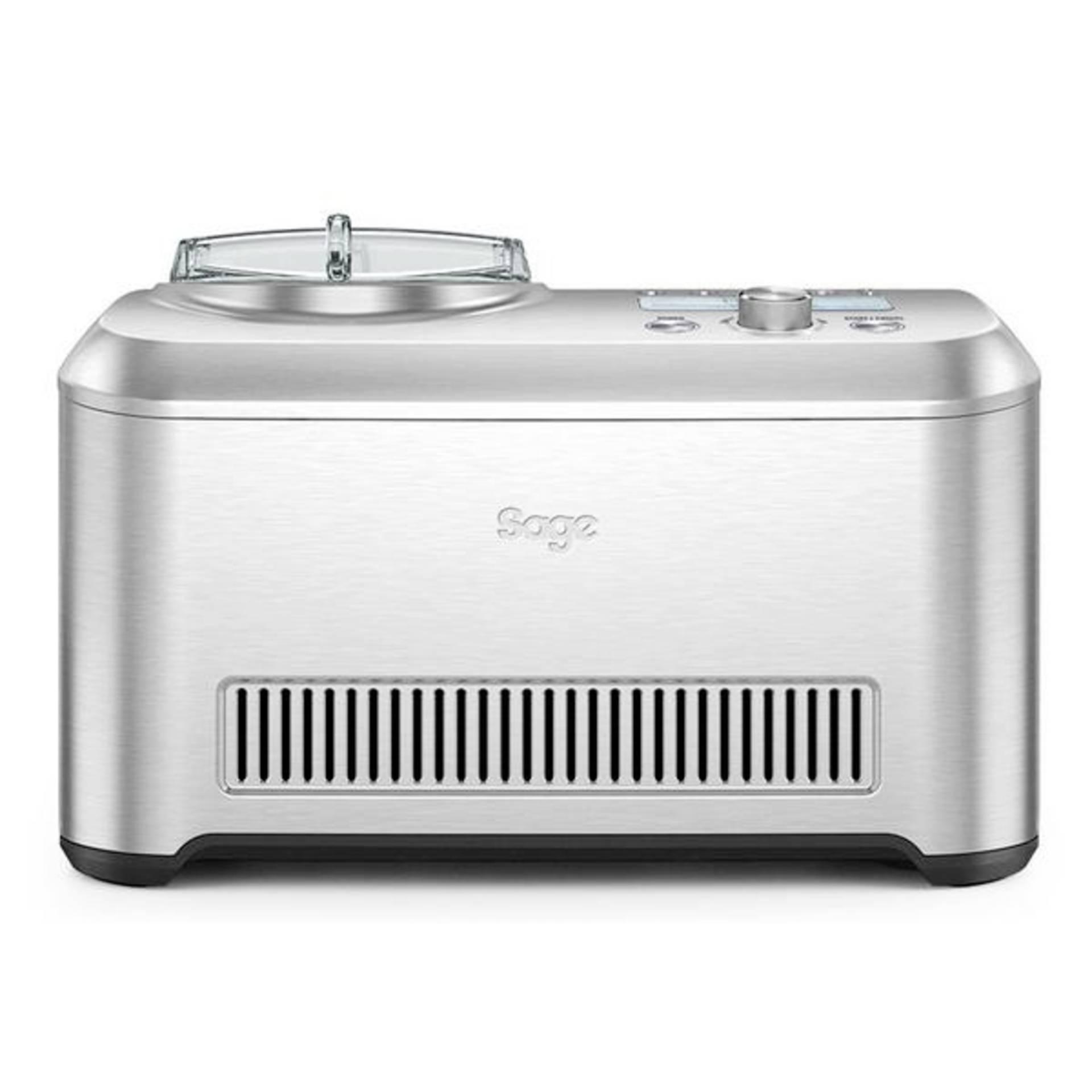 Sage Eismaschine Smart Scoop edelstahl
