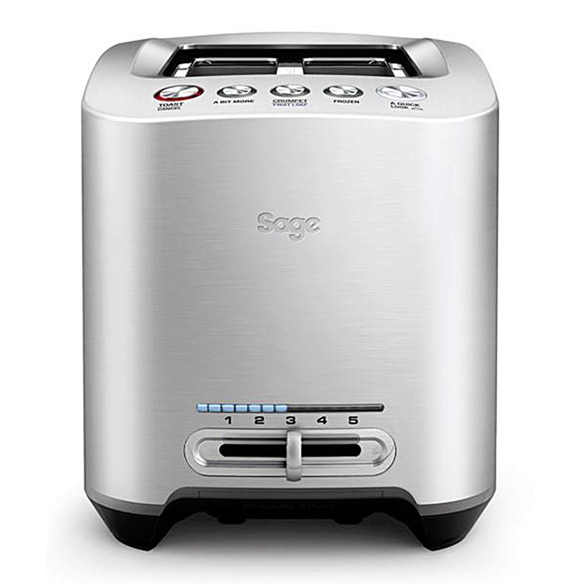 Sage Toaster Smart Toast 2 Slice edelstahl