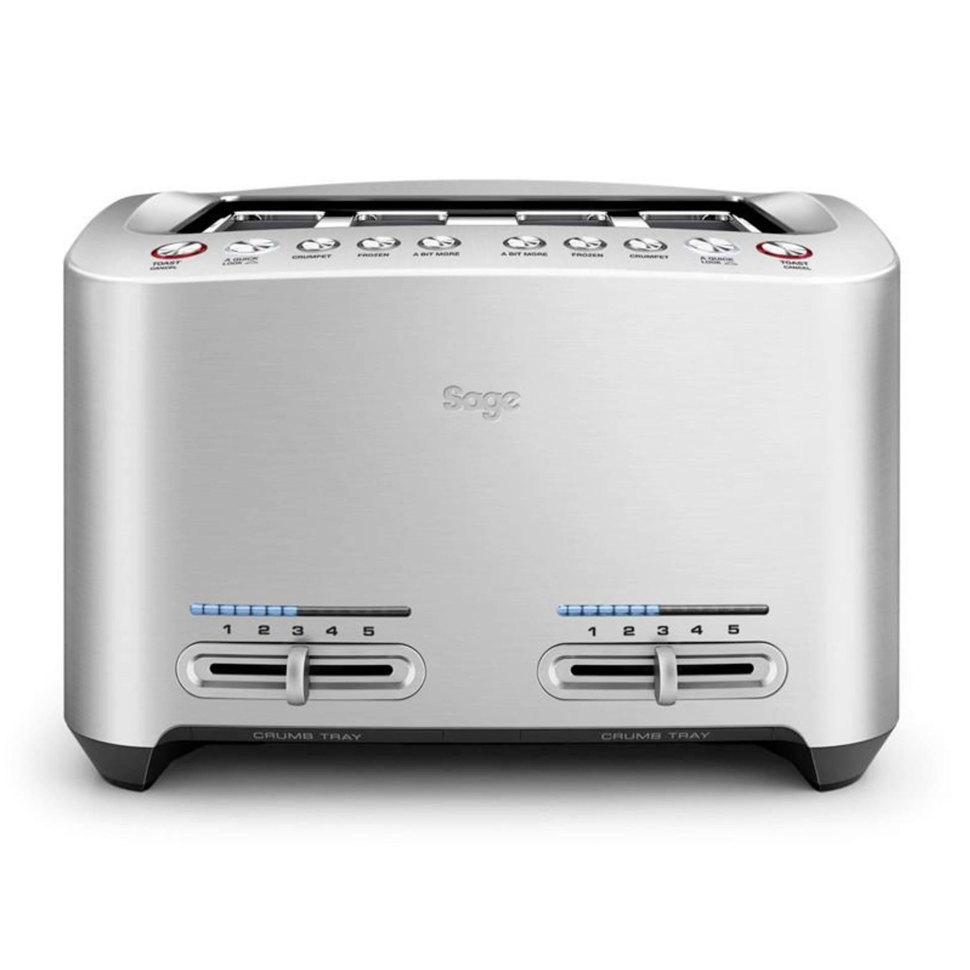 Sage Toaster Smart Toast 4 Slice edelstahl