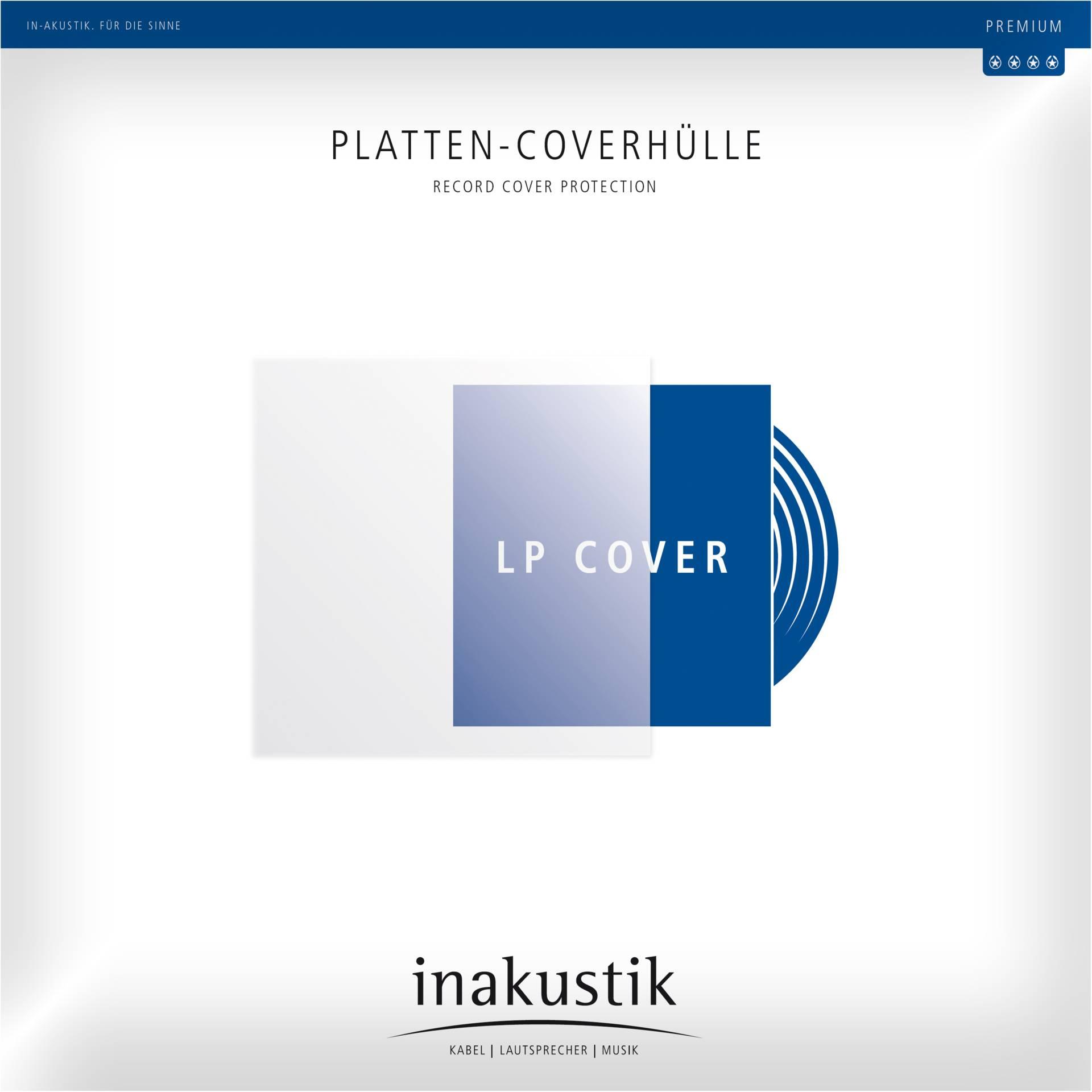 1x50 in-akustik Premium LP Platten Coverhüllen