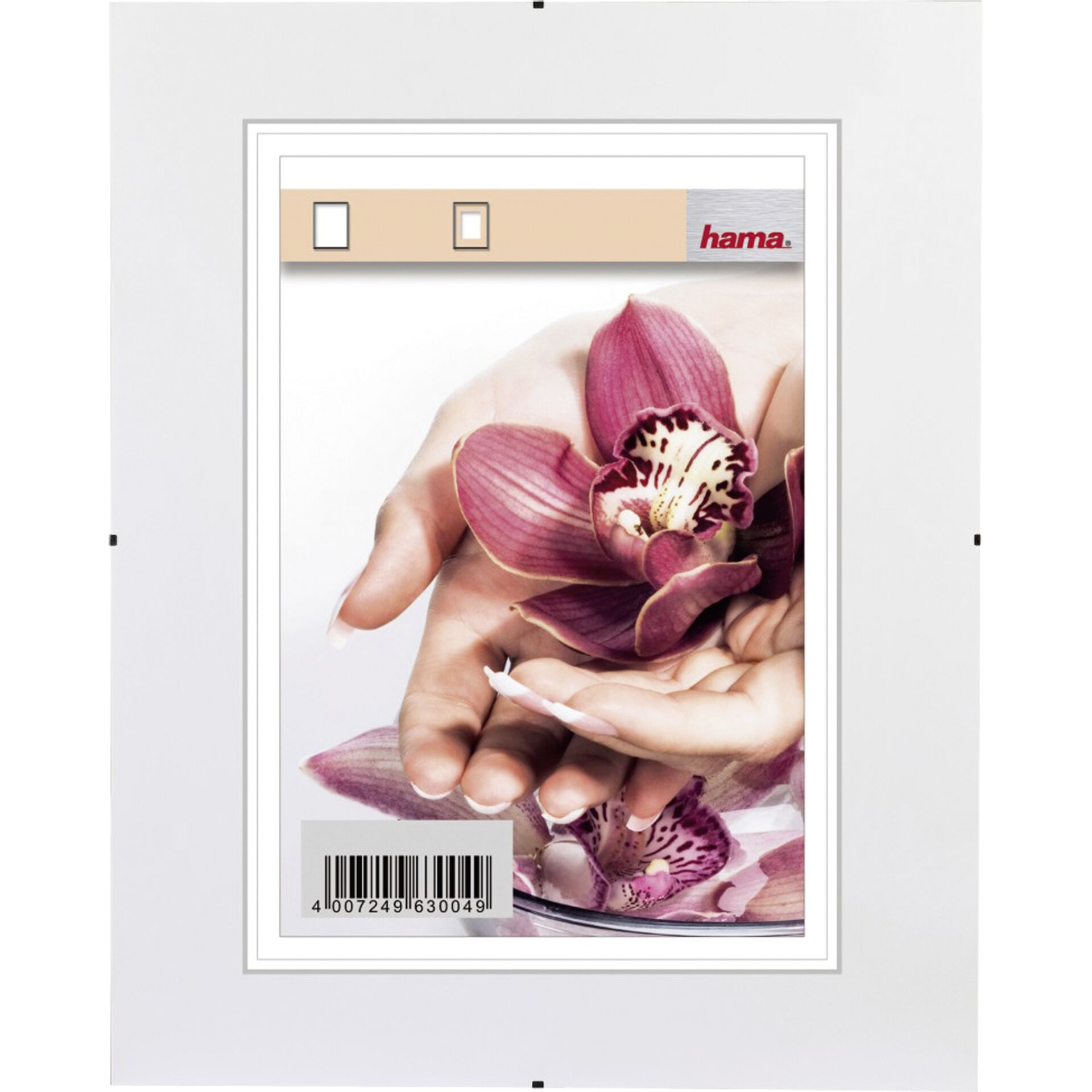 Hama Clip-Fix NG         10,5x15 rahmenloser Bildhalter     63002