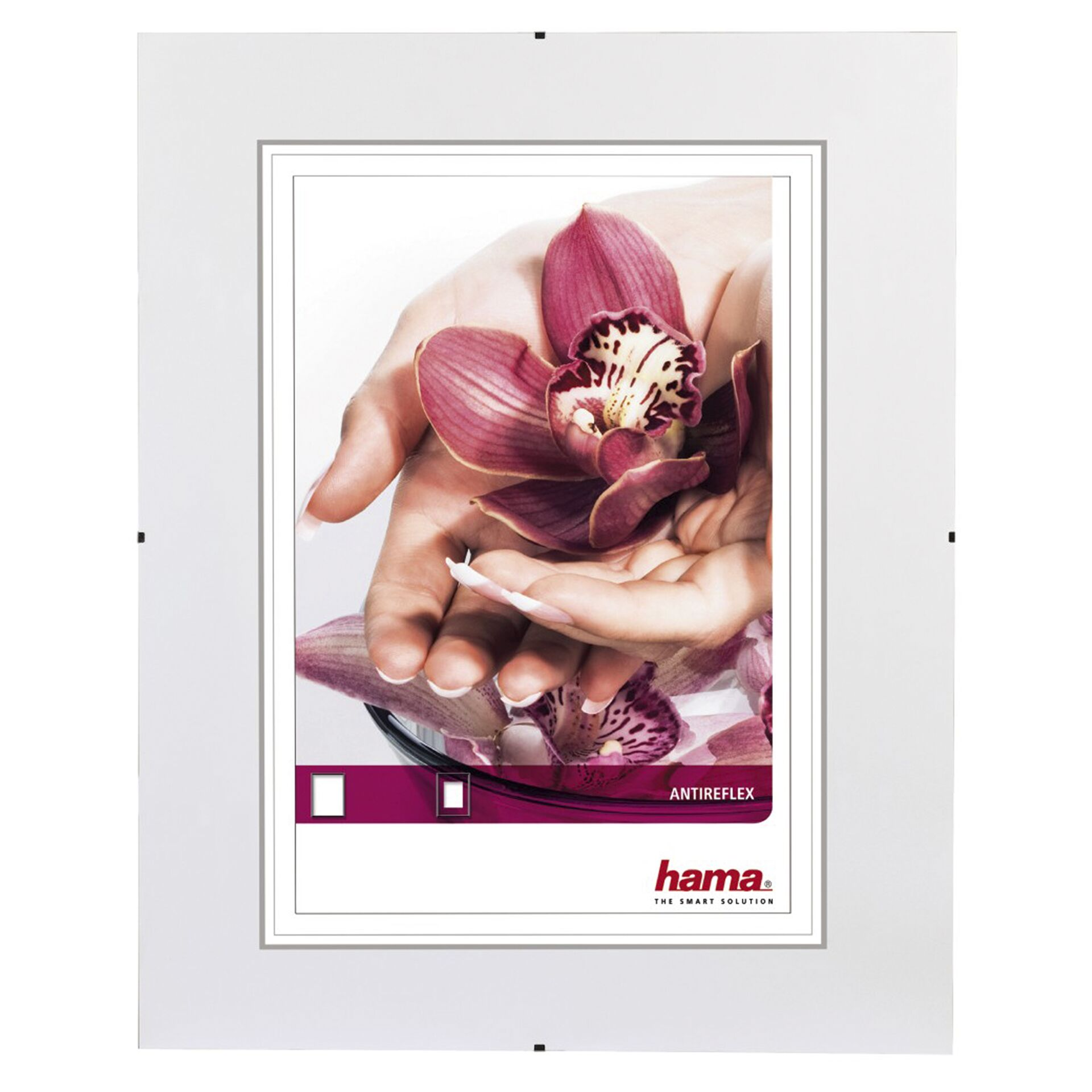 Hama Clip-Fix ARG        10,5x15 rahmenloser Bildhalter     63102