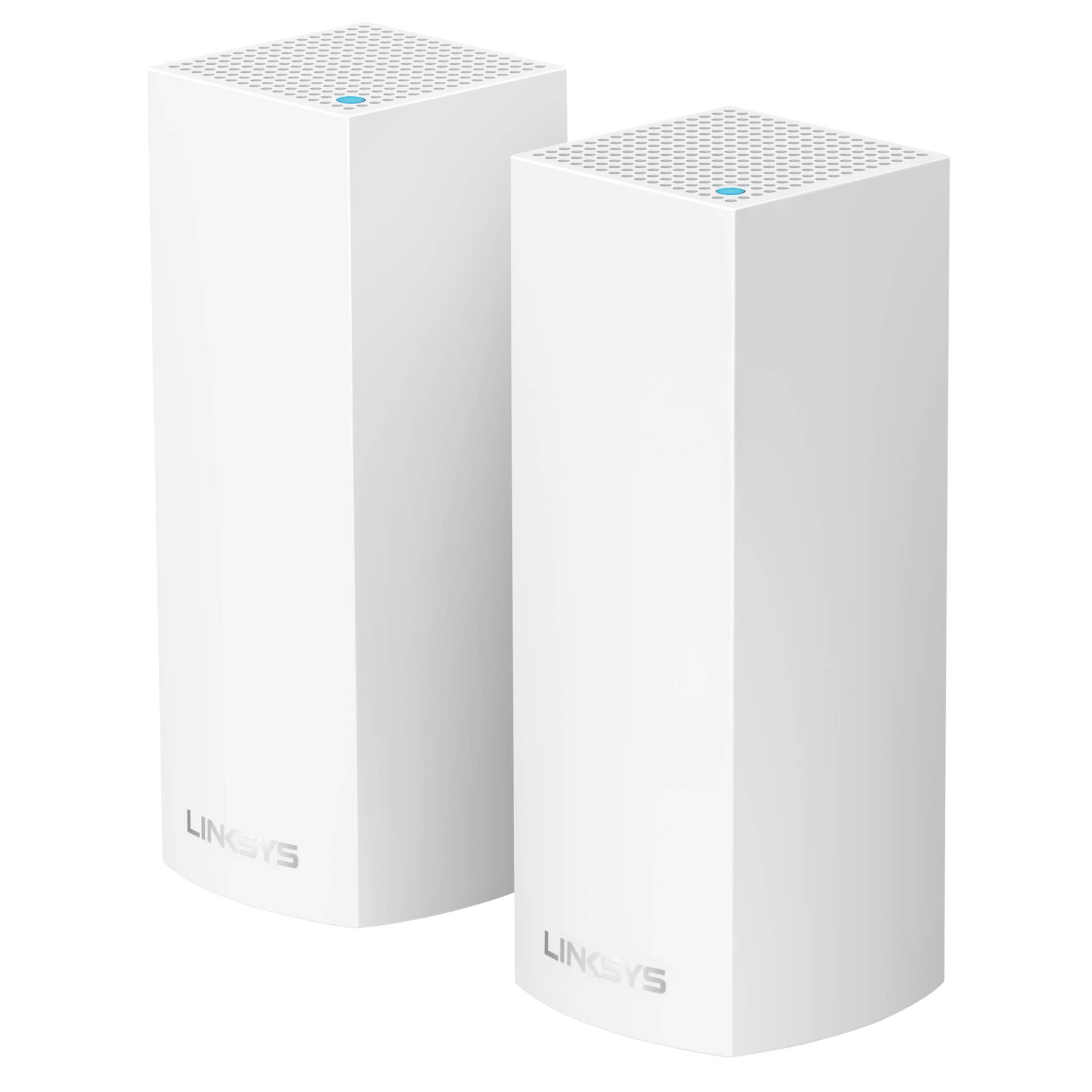 Linksys Velop Modular Wi-Fi System AC4400 2 Pack  WHW0302-EU