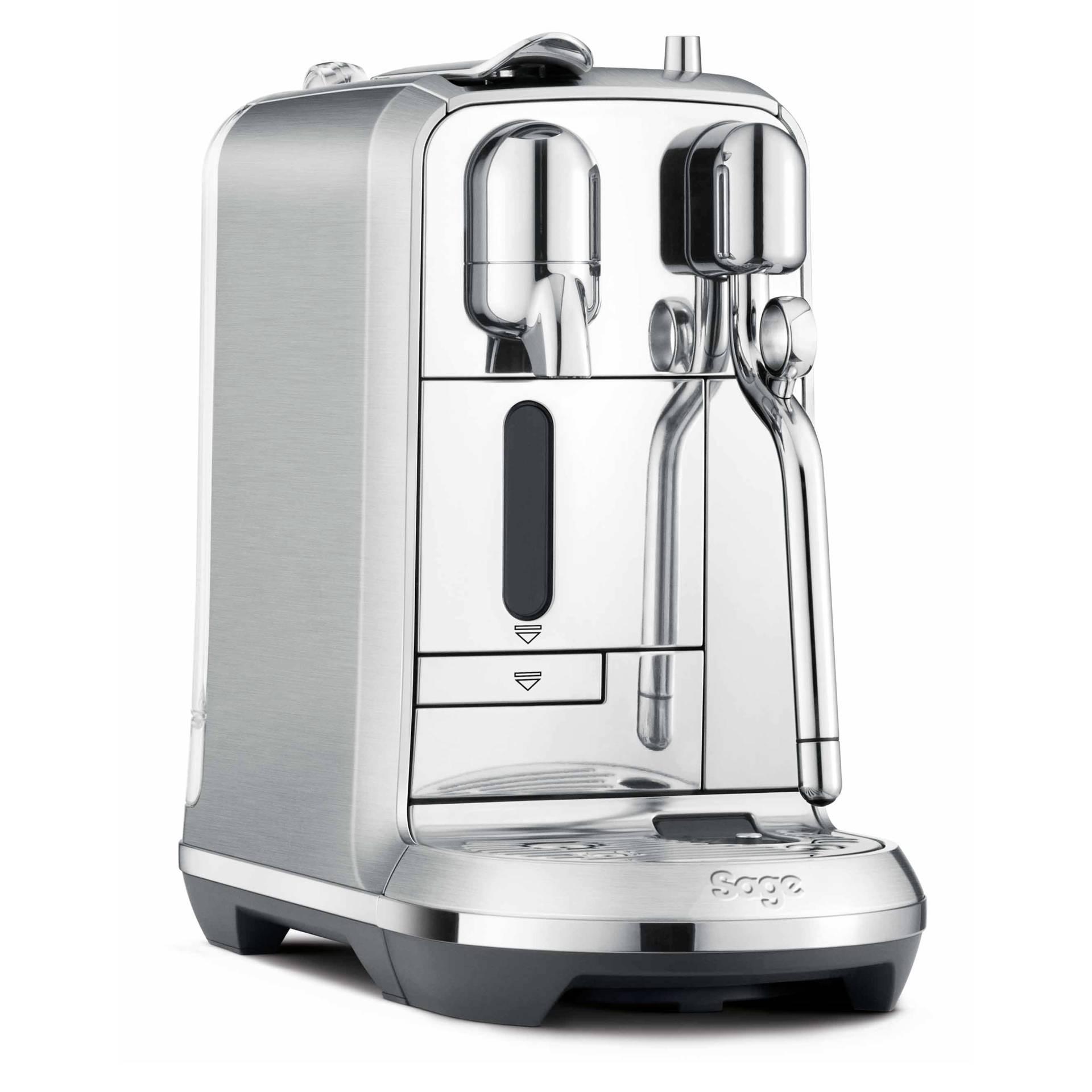 Sage Nespresso Maschine Creatista Plus edelstahl