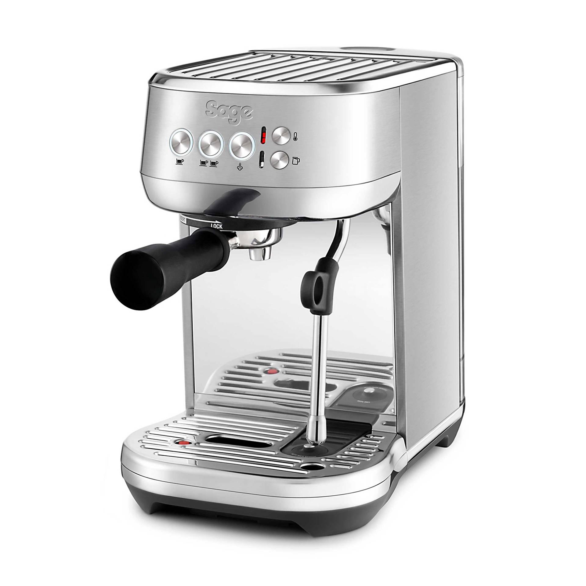 Sage Espresso Maschine Bambino Plus edelstahl