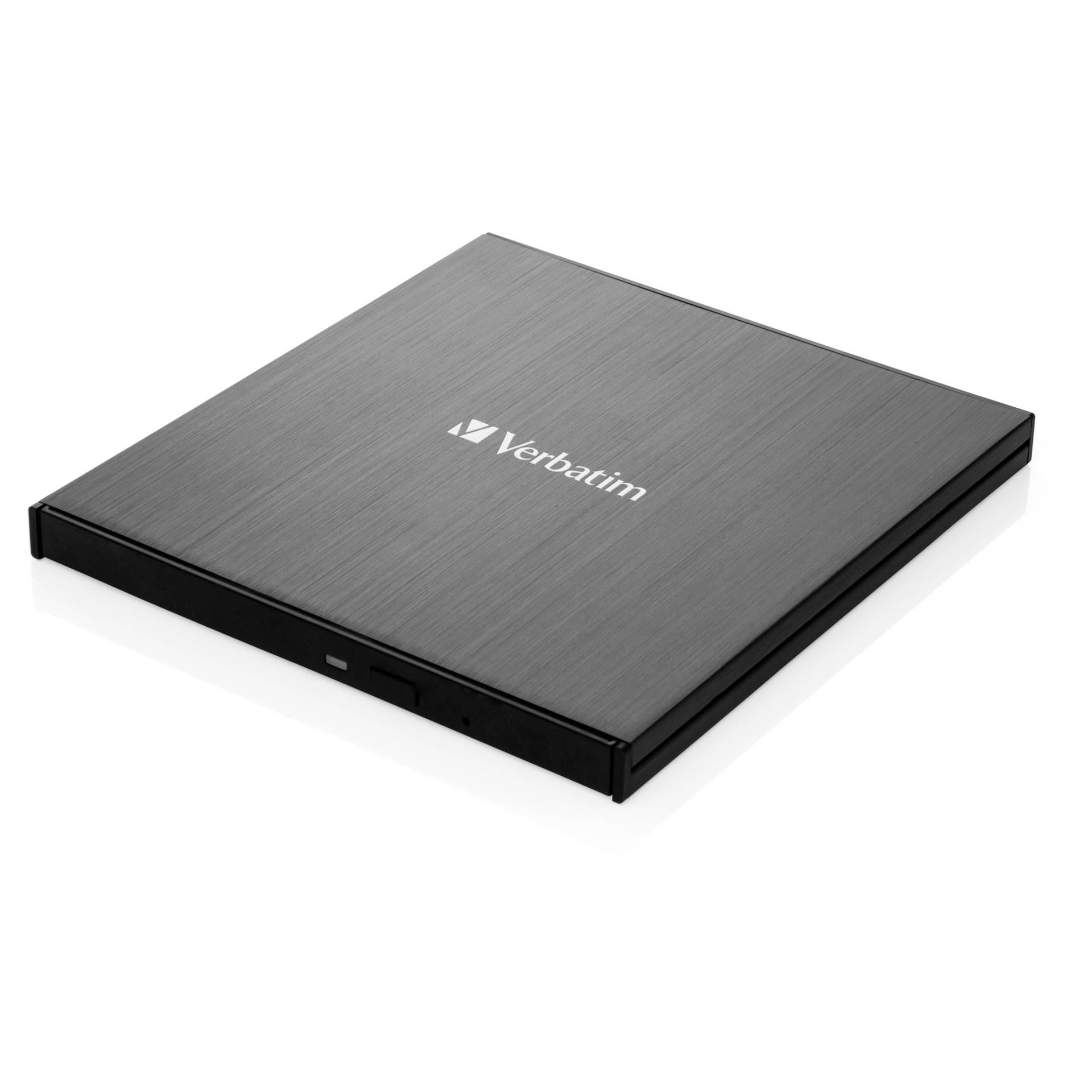 Verbatim Slimline Blu-ray Writer USB 3.1 GEN 1 USB-C Ultra HD 4K