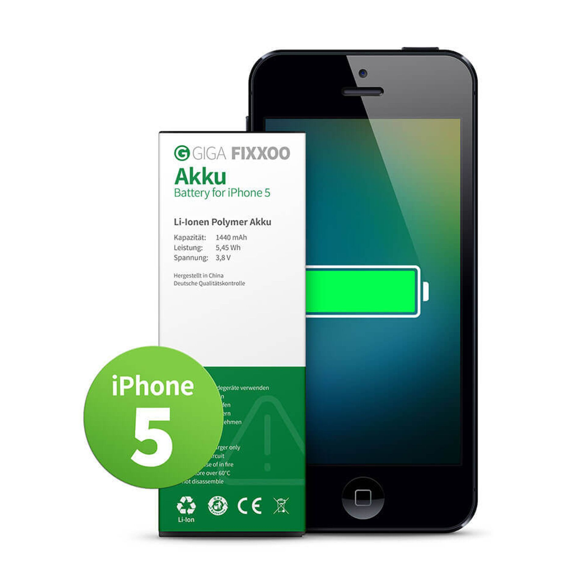GIGA Fixxoo iPhone 5 Akku