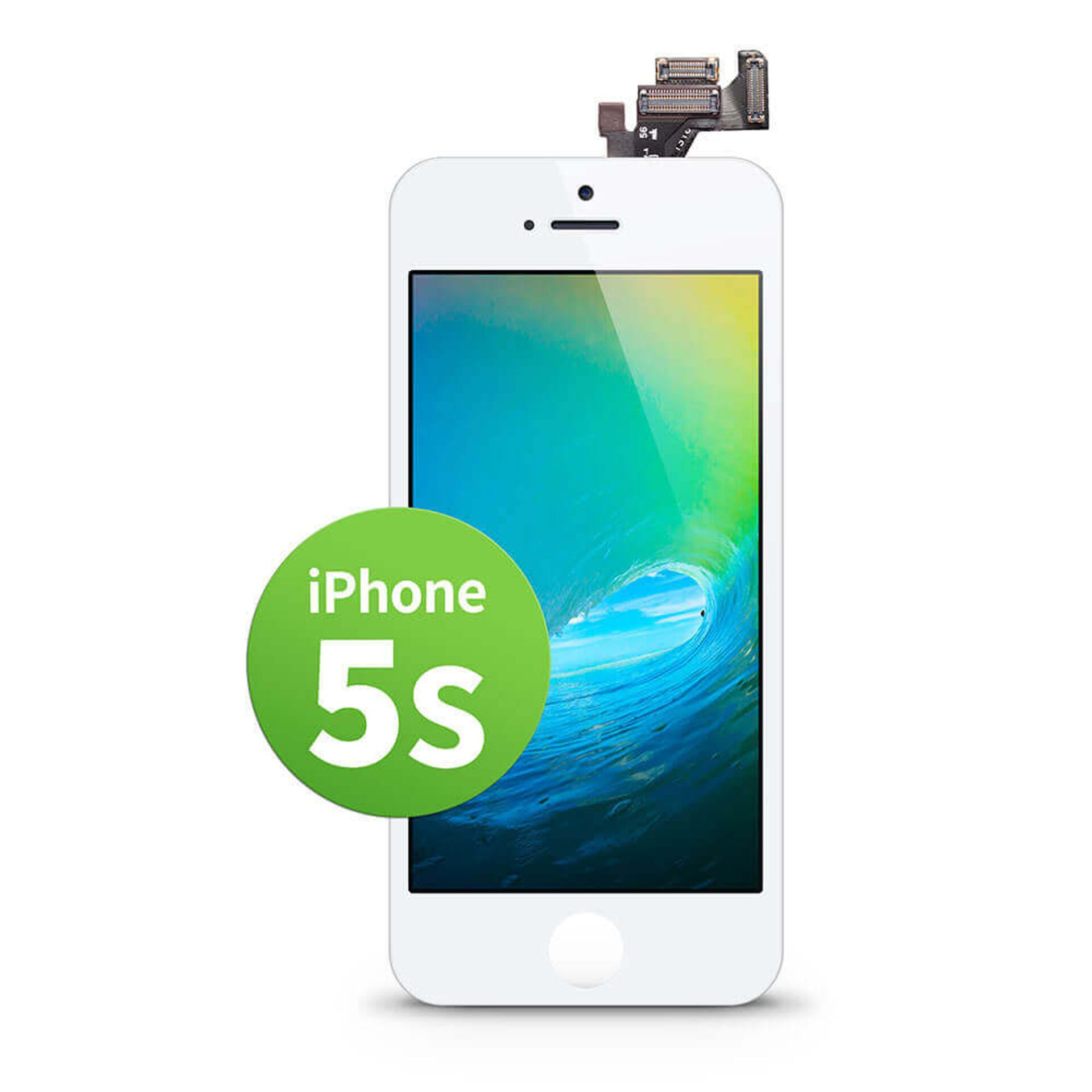 GIGA Fixxoo iPhone 5s Display weiß