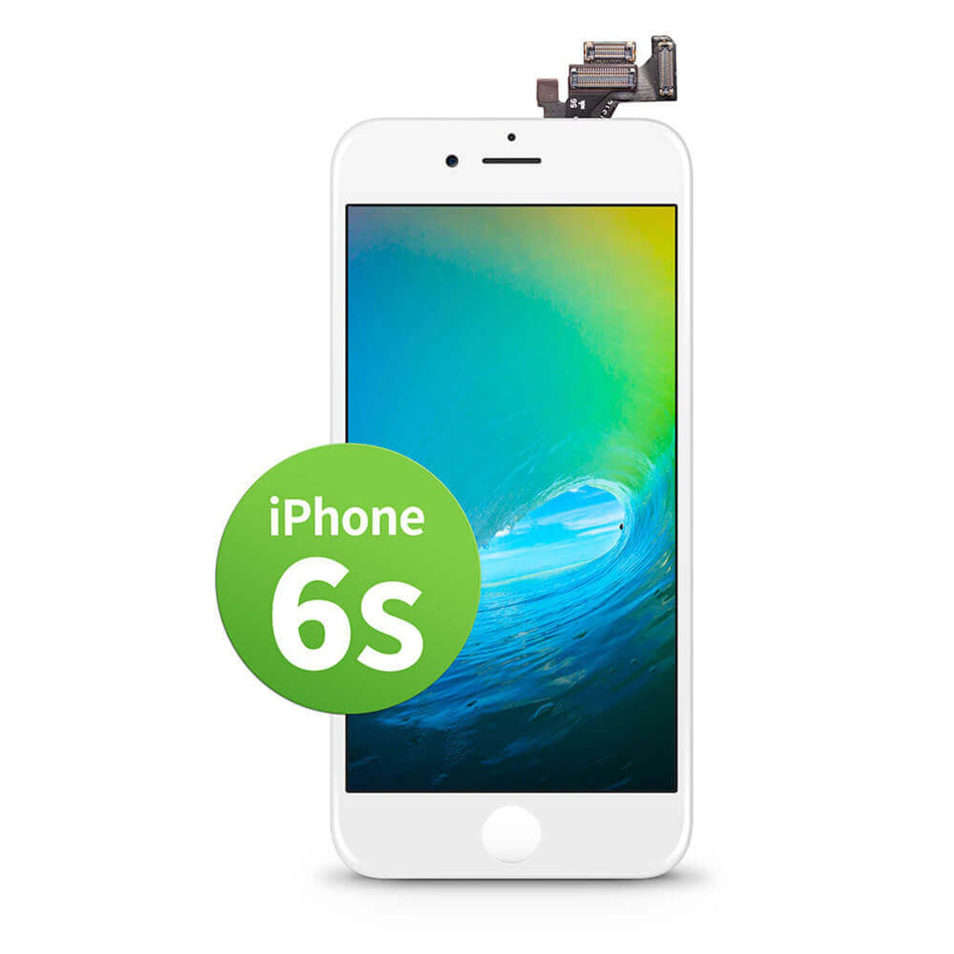 GIGA Fixxoo iPhone 6S Display weiß