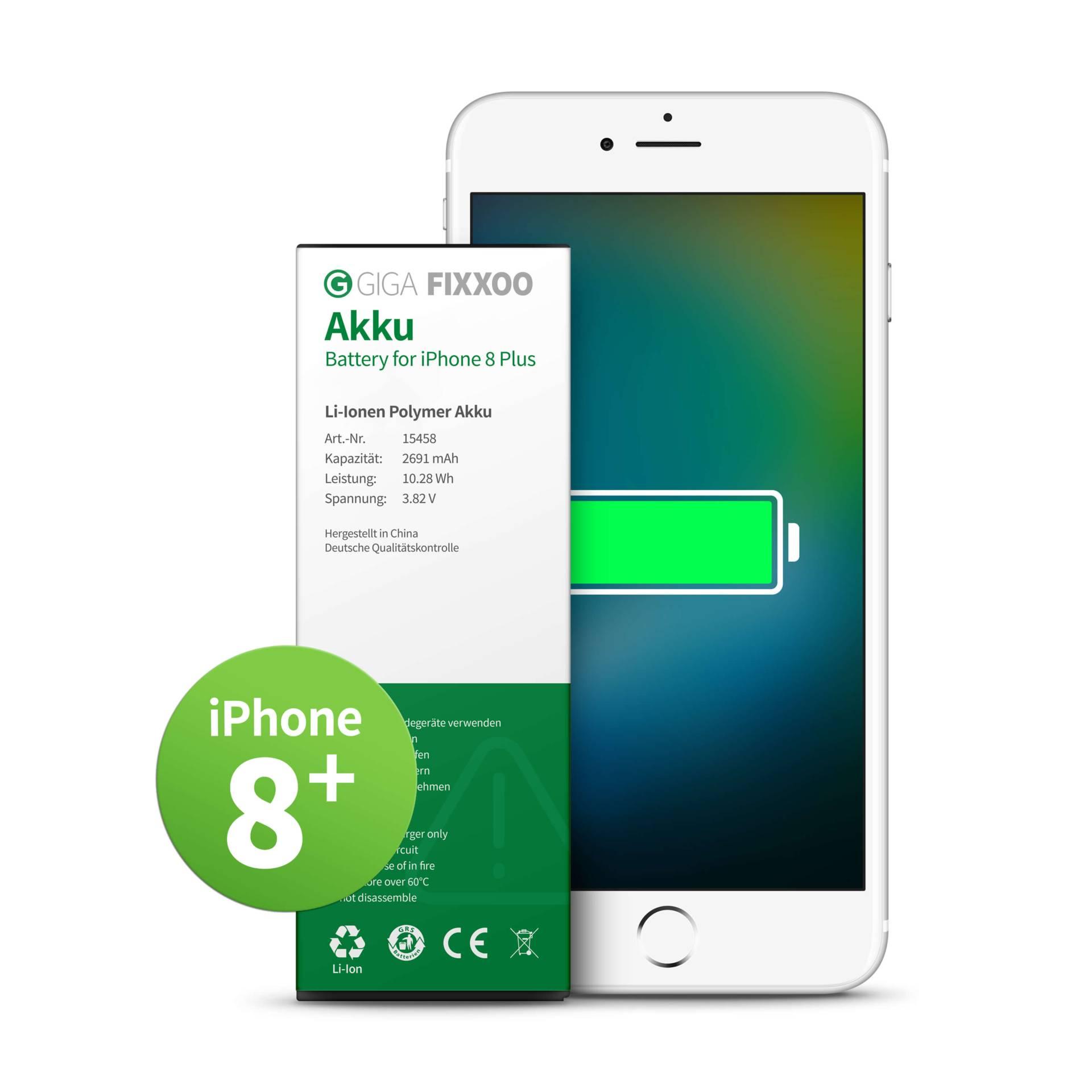 GIGA Fixxoo iPhone 8 Plus Akku