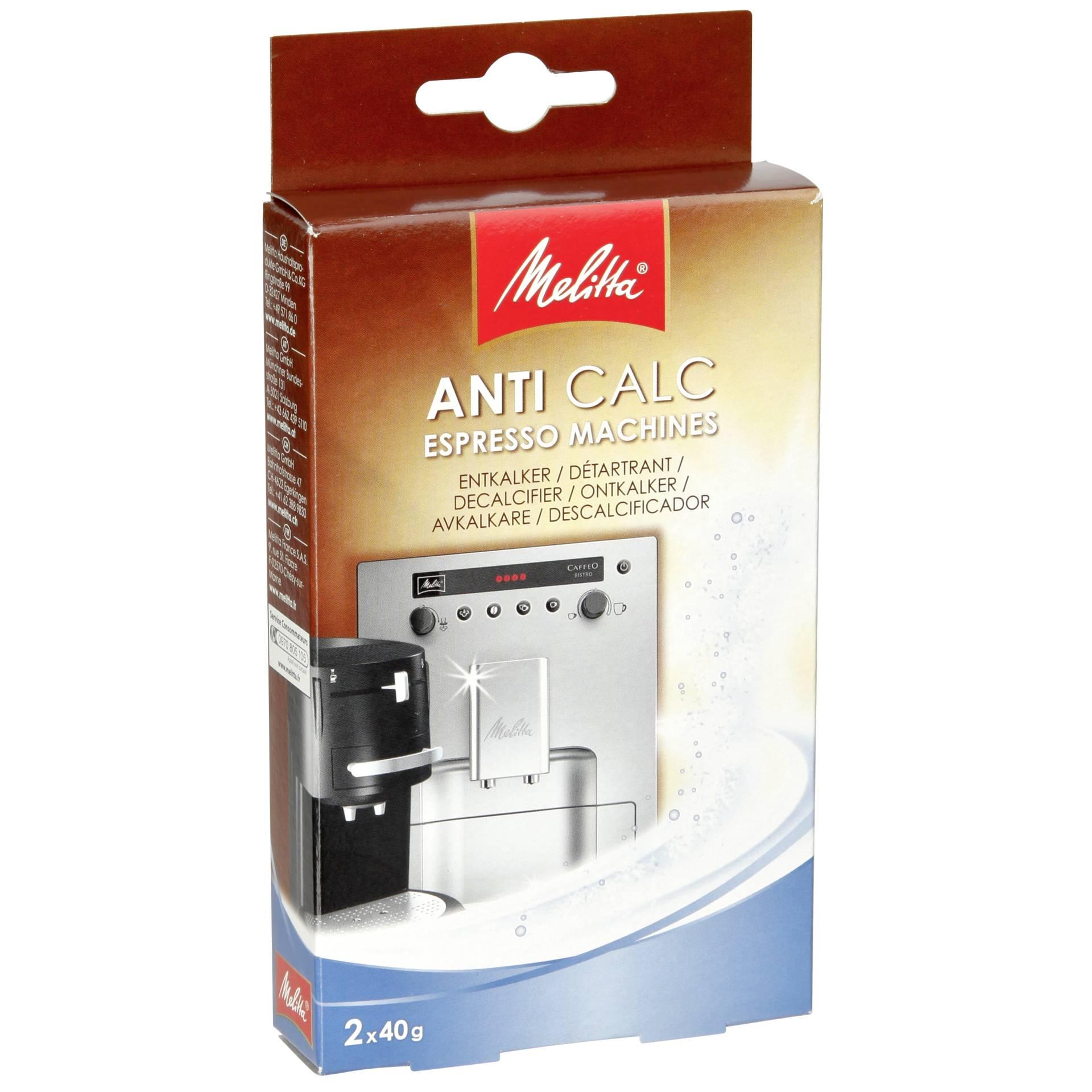 Melitta Anticalc Espresso Machines