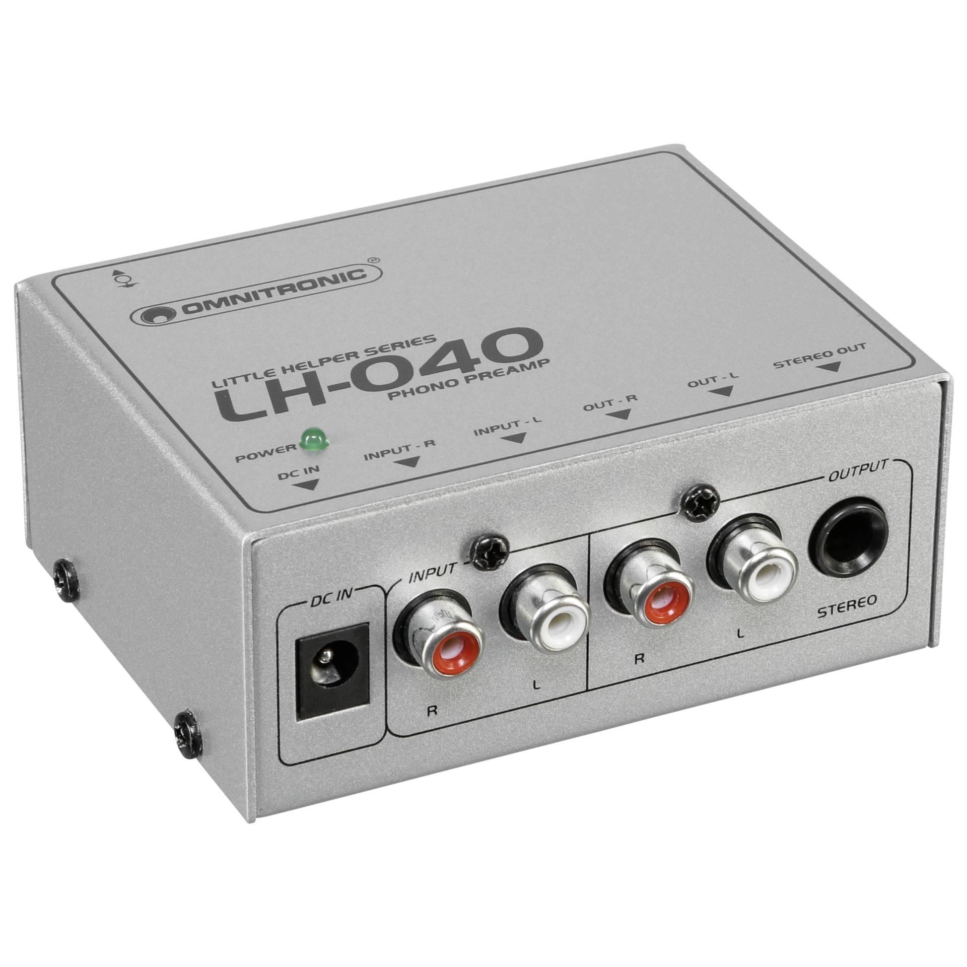Omnitronic LH-040 Phono Vorverstärker