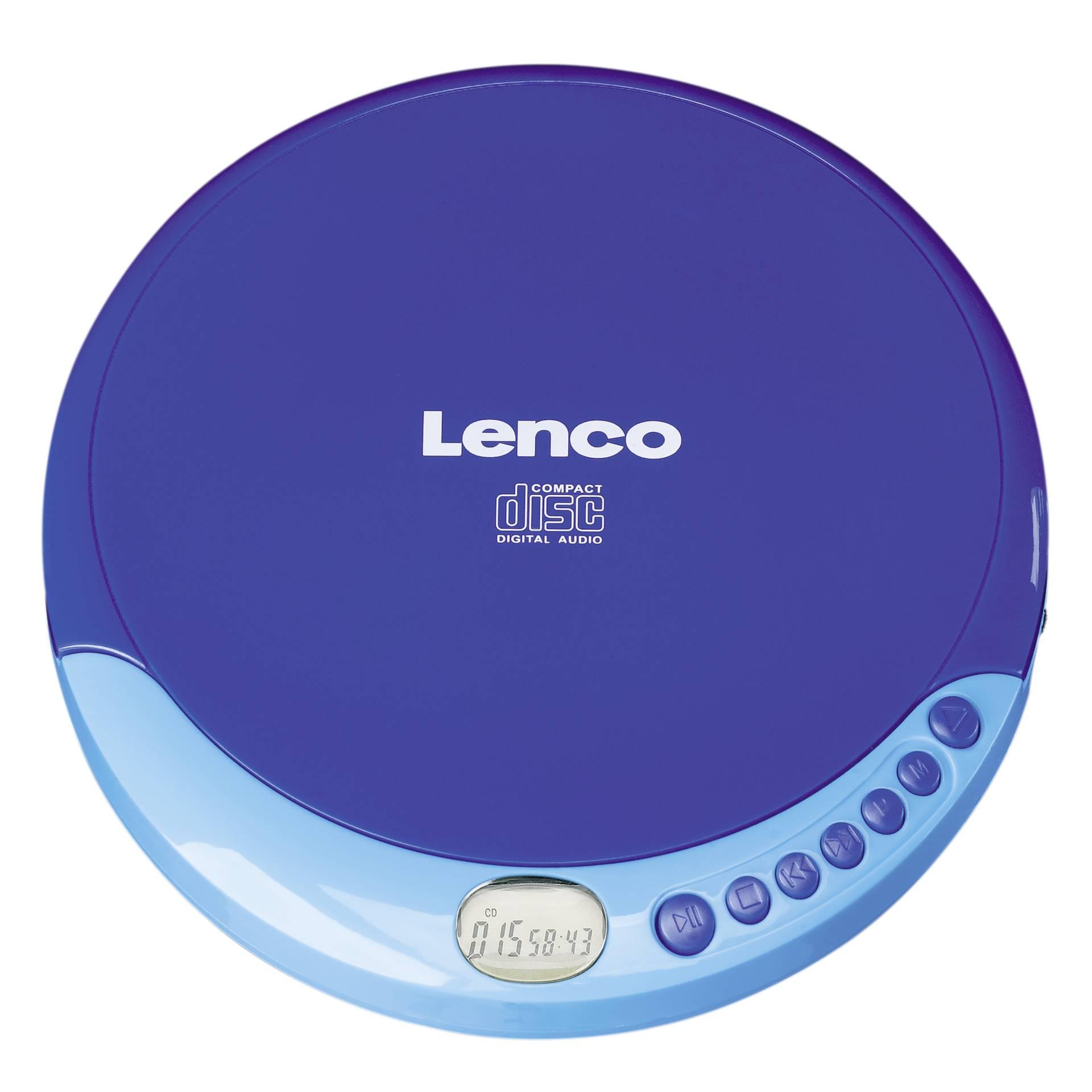 Lenco CD-011 blau