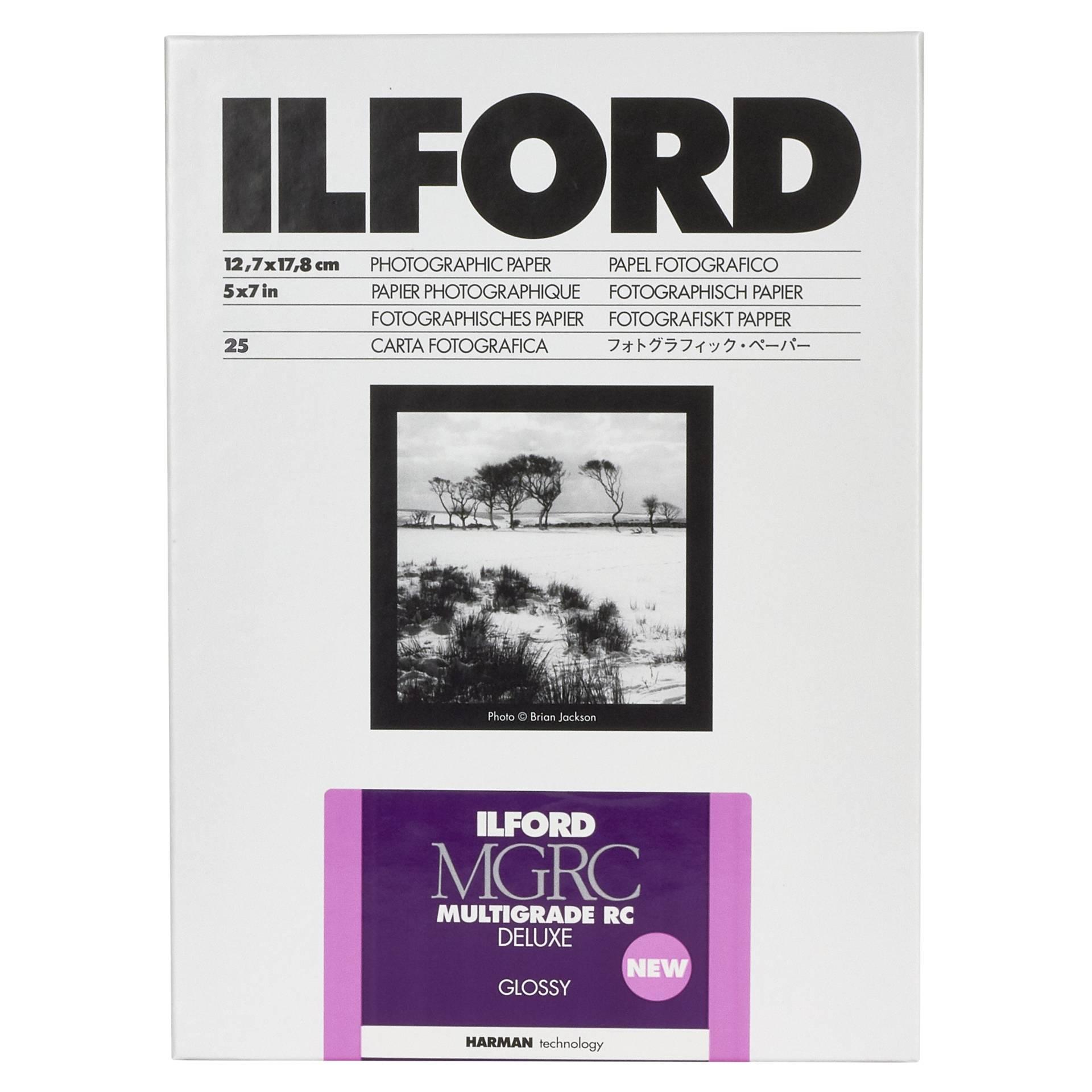1x 25 Ilford MG RC DL  1M  13x18
