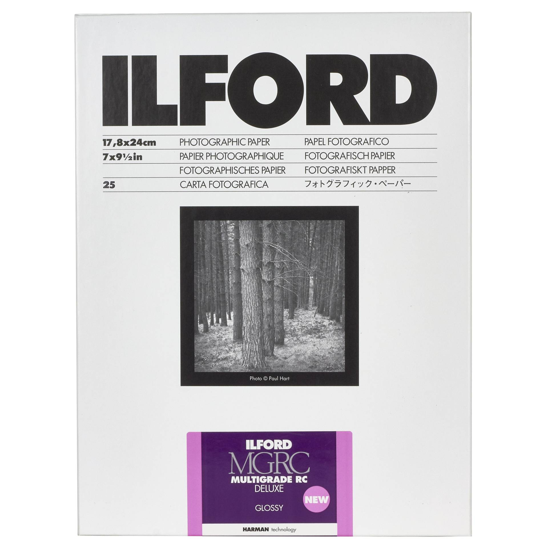 1x 25 Ilford MG RC DL  1M  18x24