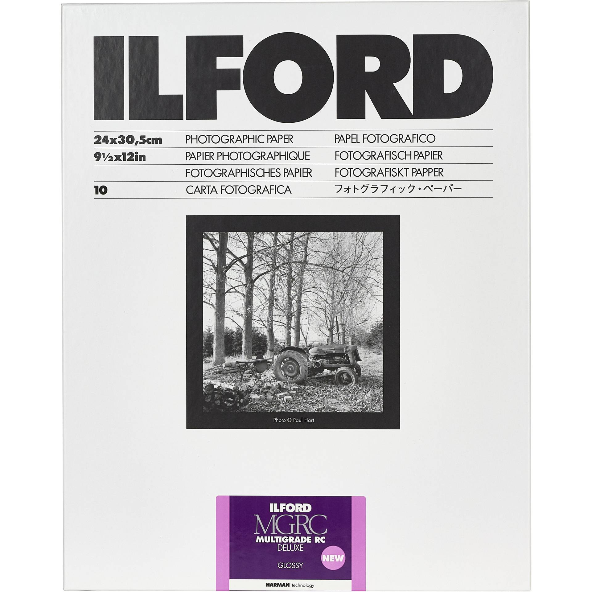 1x 10 Ilford MG RC DL  1M  24x30