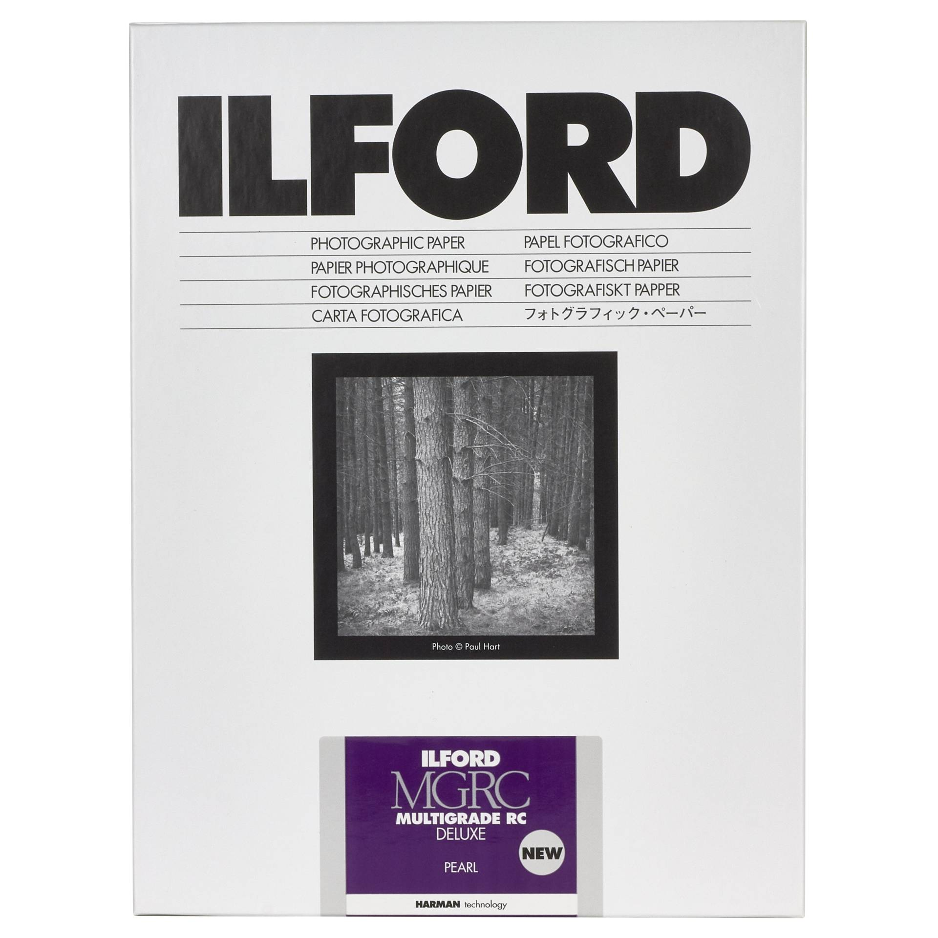 1x 25 Ilford MG RC DL 44M  13x18