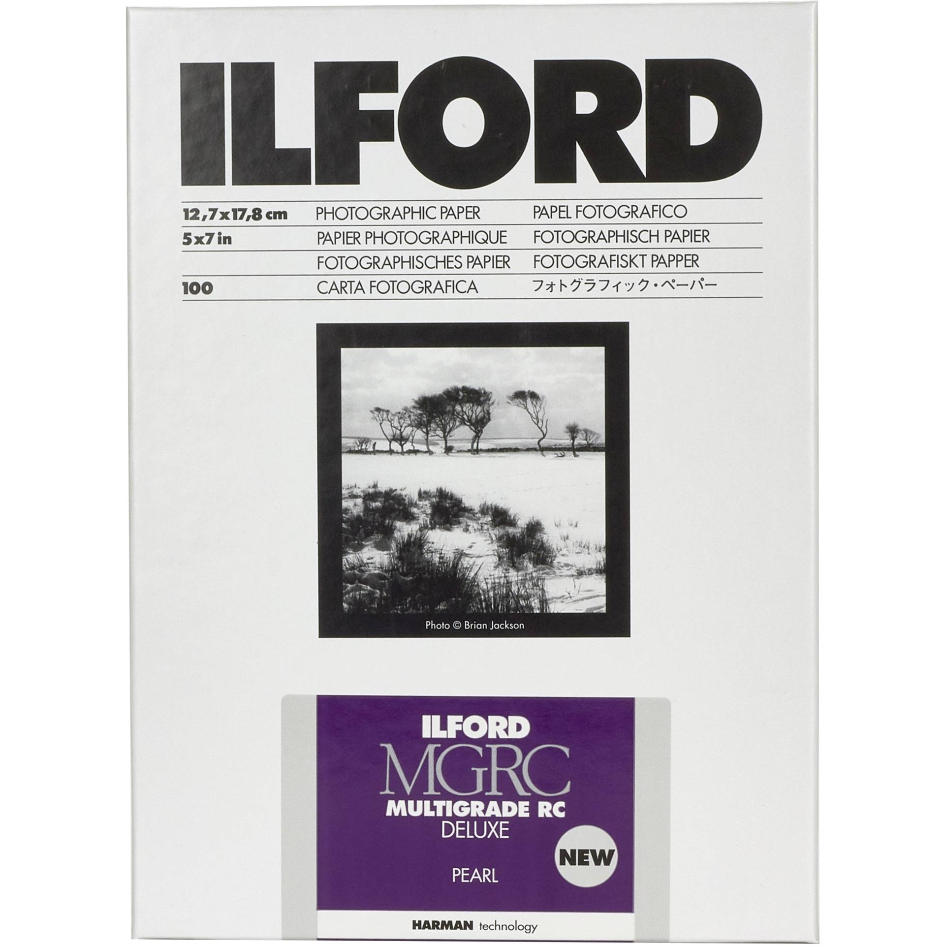 1x100 Ilford MG RC DL 44M  13x18