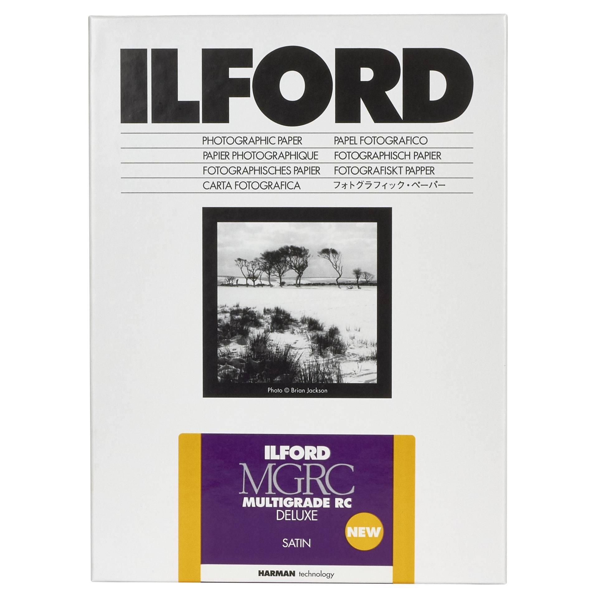 1x 25 Ilford MG RC DL 25M  13x18