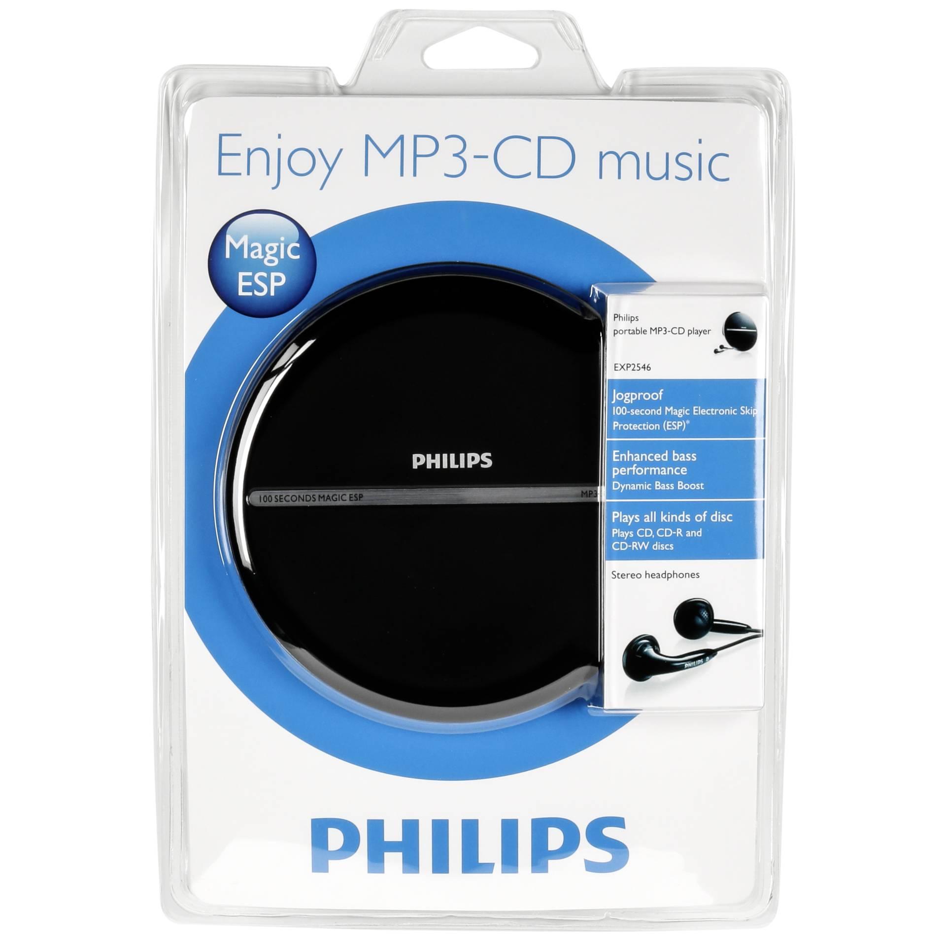 Philips EXP2546/12 schwarz-silber