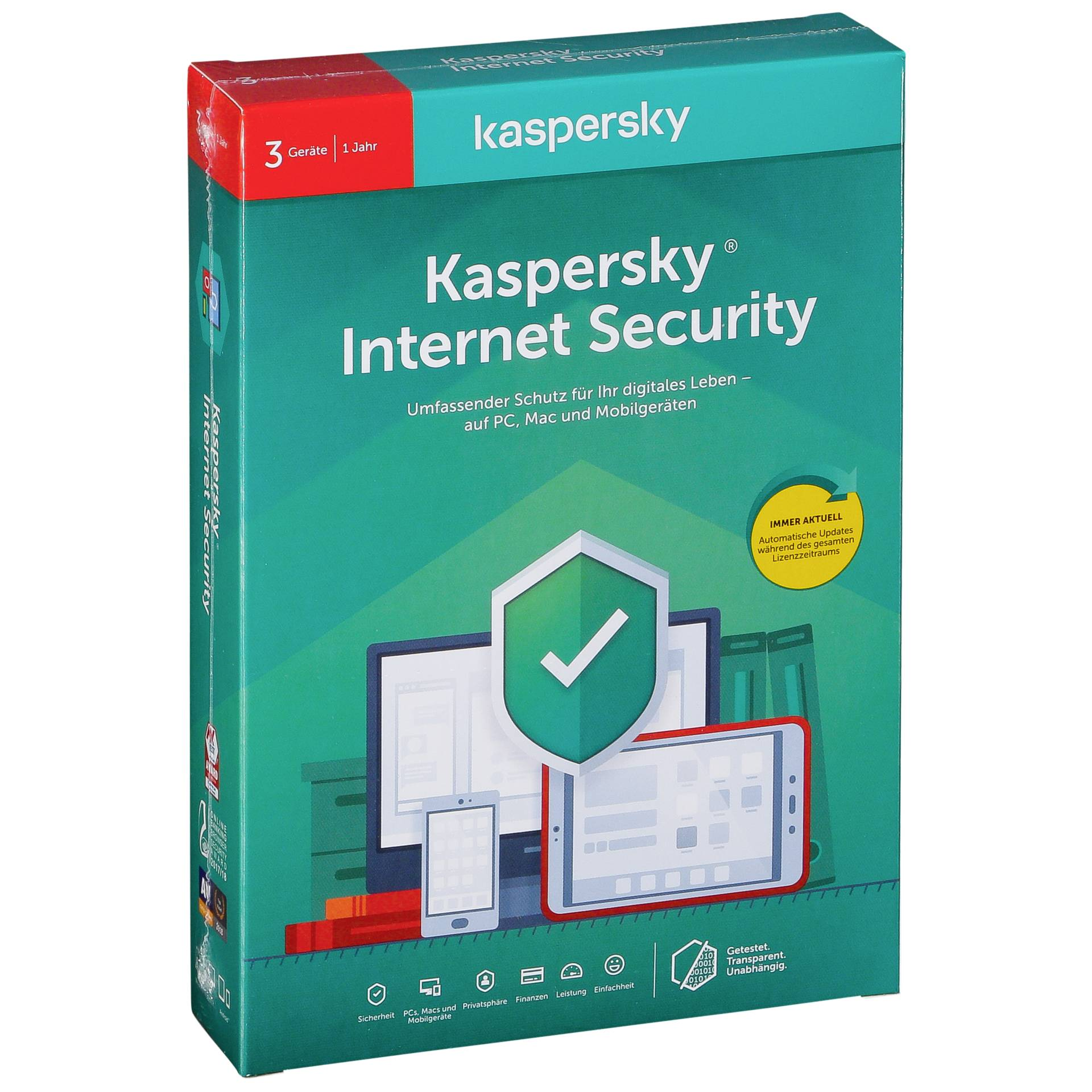 Kaspersky Internet Security 2020 3 Geräte