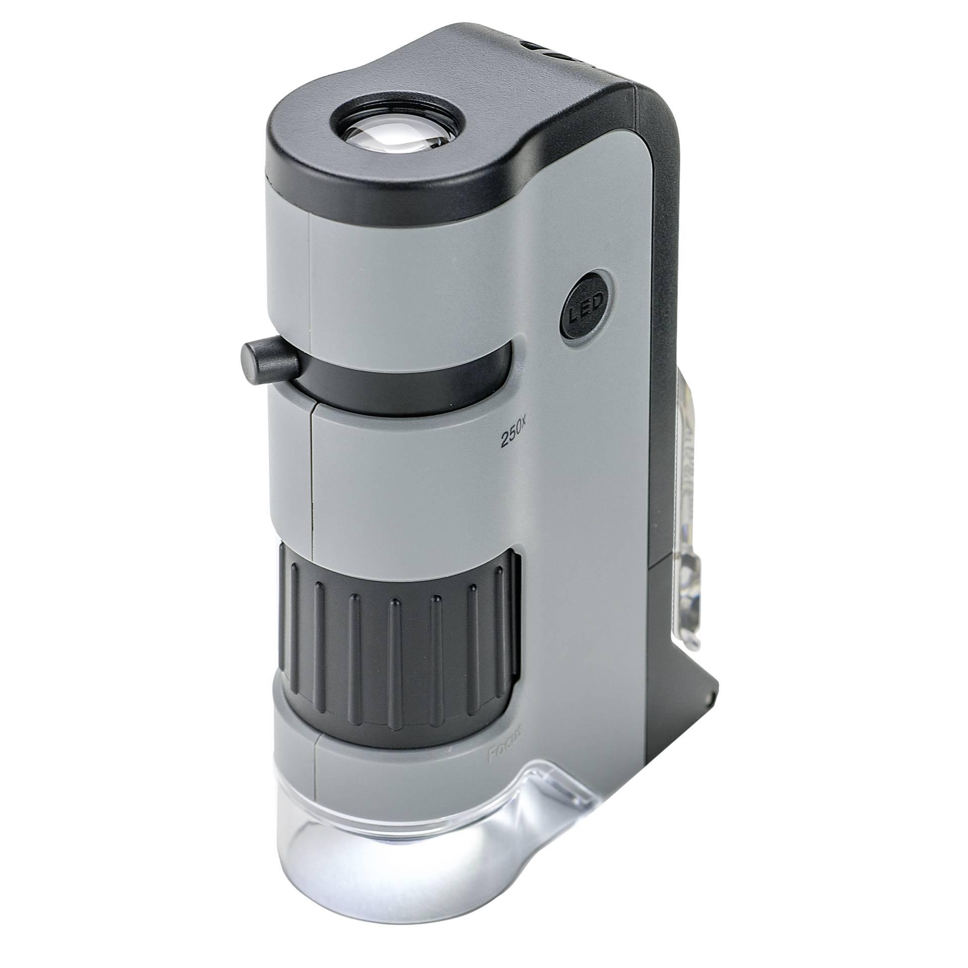 Carson MicroFlip 100x - 250x LED Pocket Mikroskop