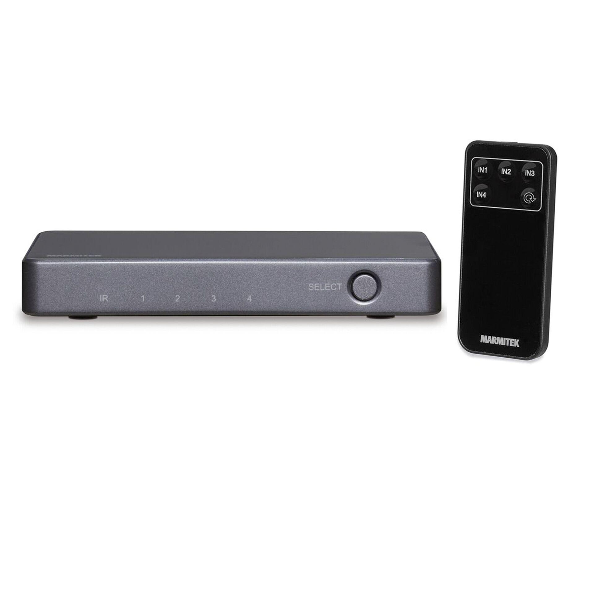 Marmitek HDMI Switch 4K60 Connect 620 UHD 2.0