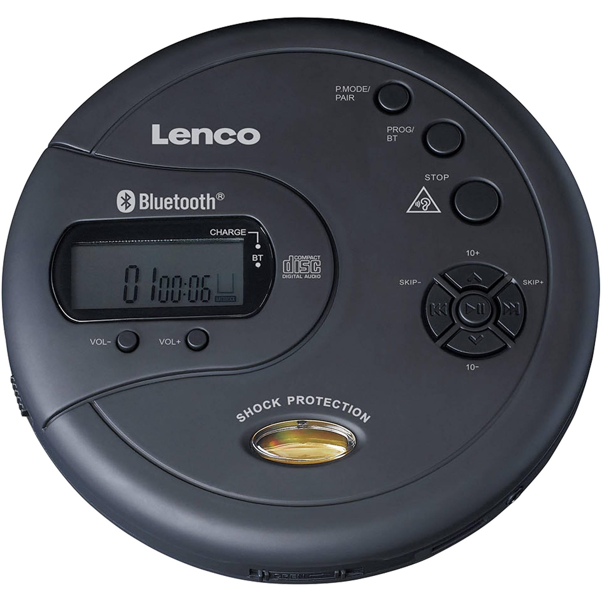 Lenco CD-300 schwarz