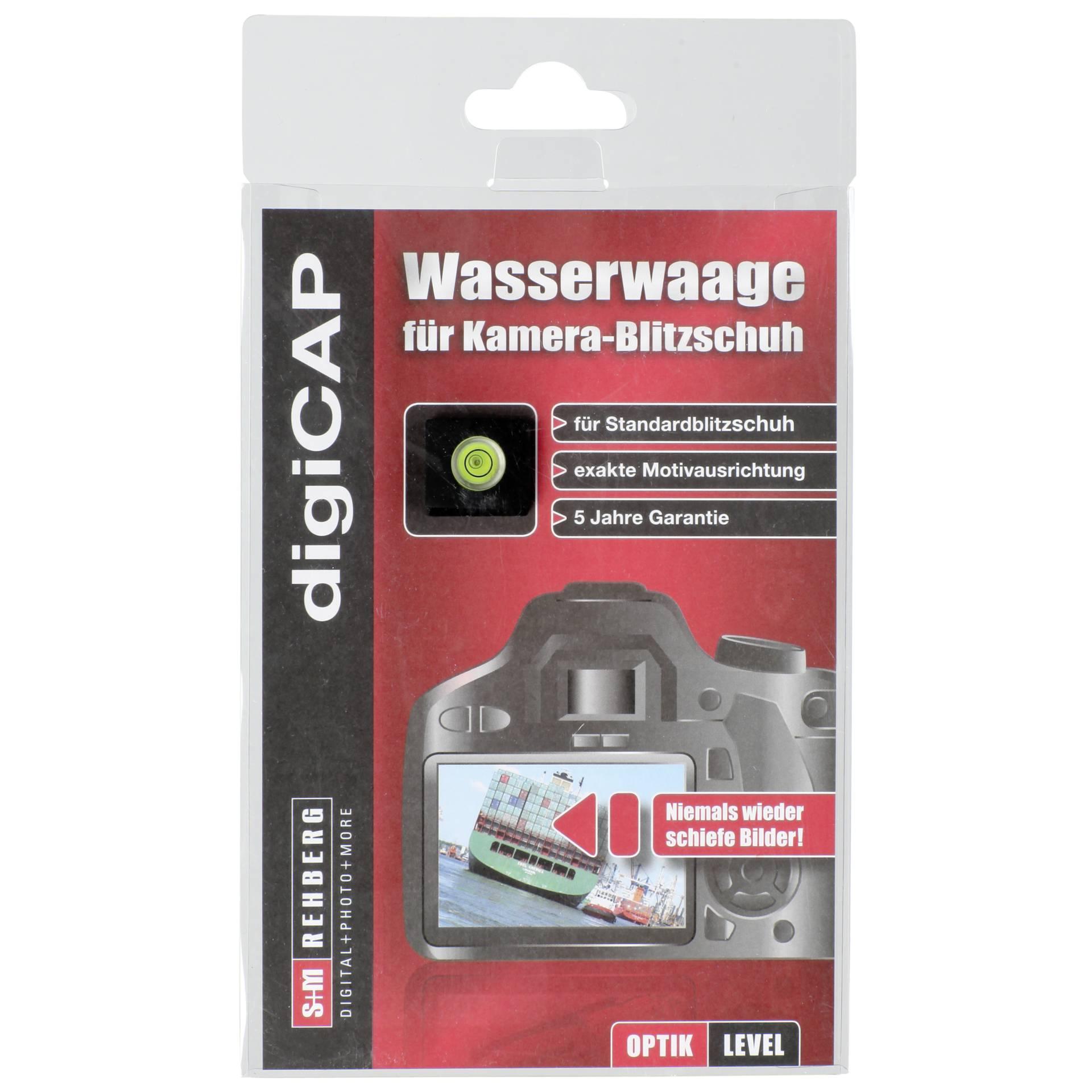 digiCAP Wasserwaage Standard Blitzschuh