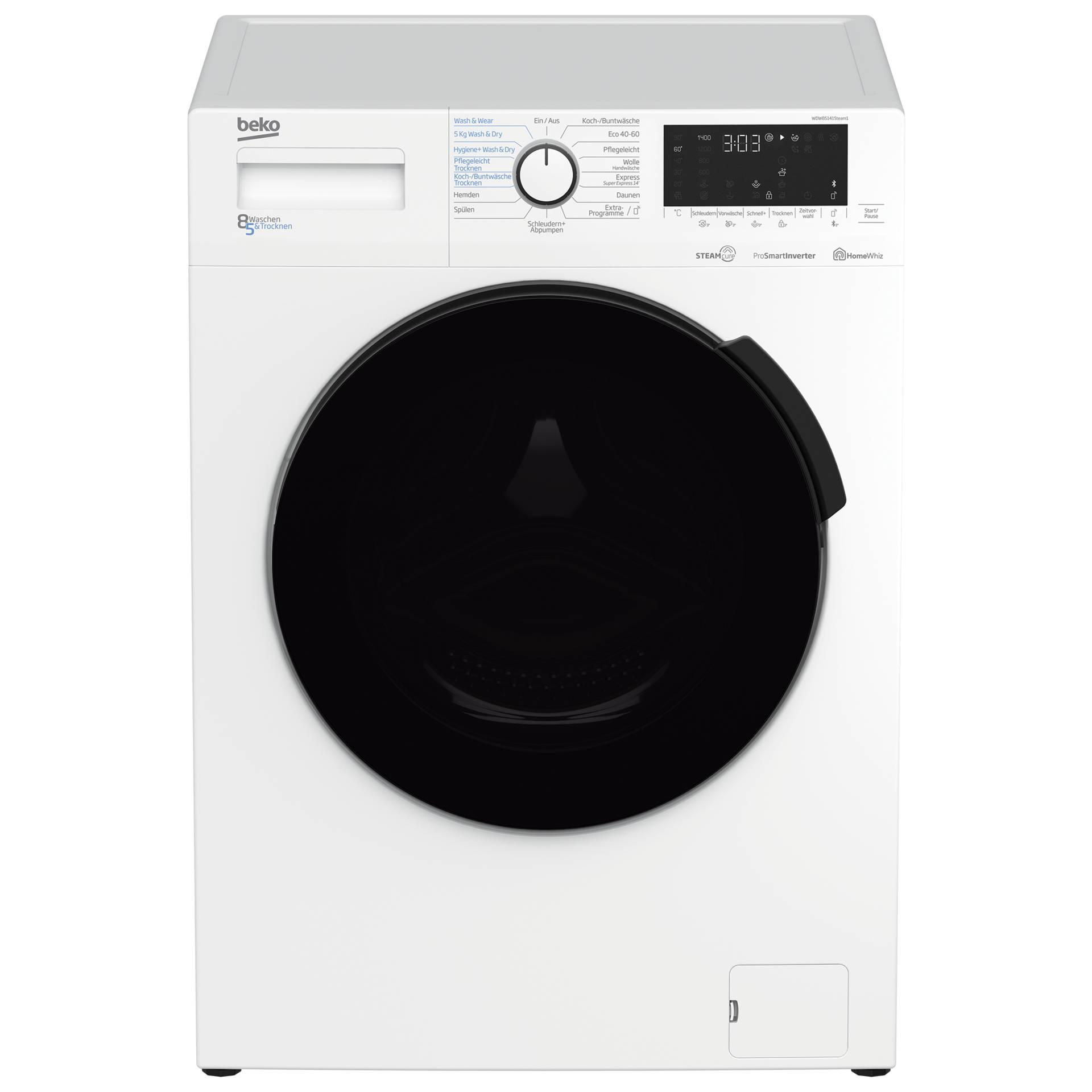 Beko WDW 85141 Steam 1