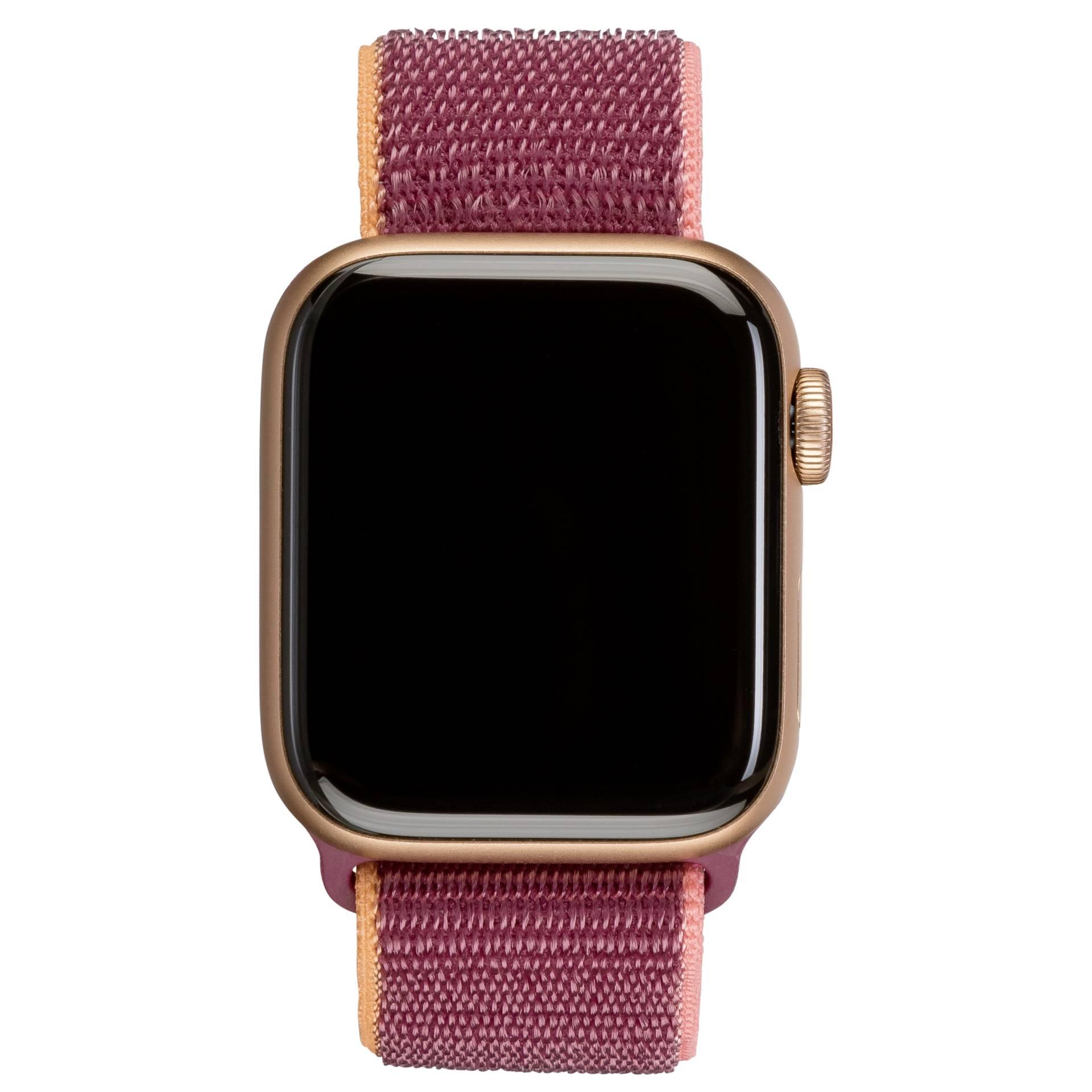 Apple Watch SE GPS + Cell 40mm Gold Alu Plum Sport Loop