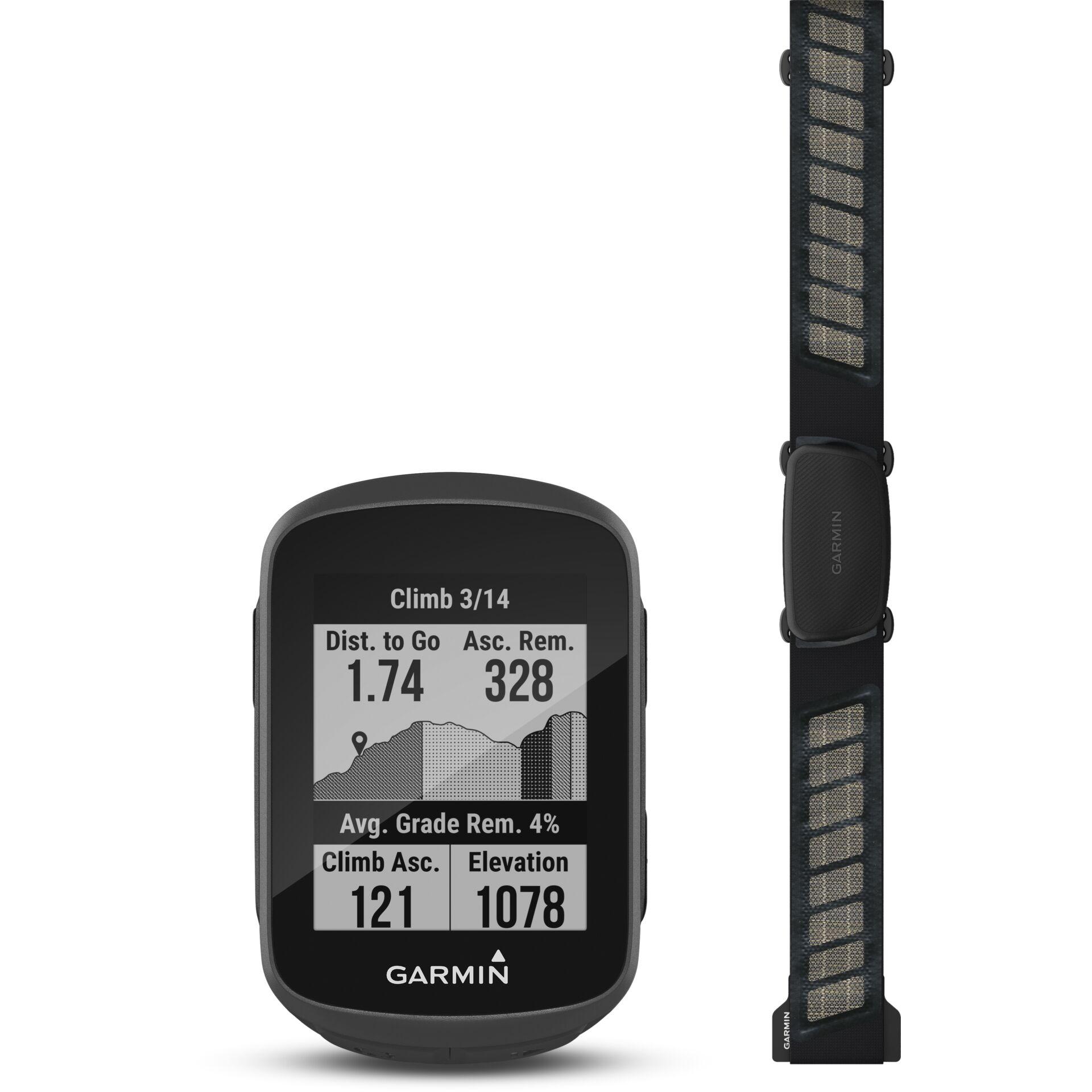 Garmin Edge 130 Plus Herzfrequenz-Bundle