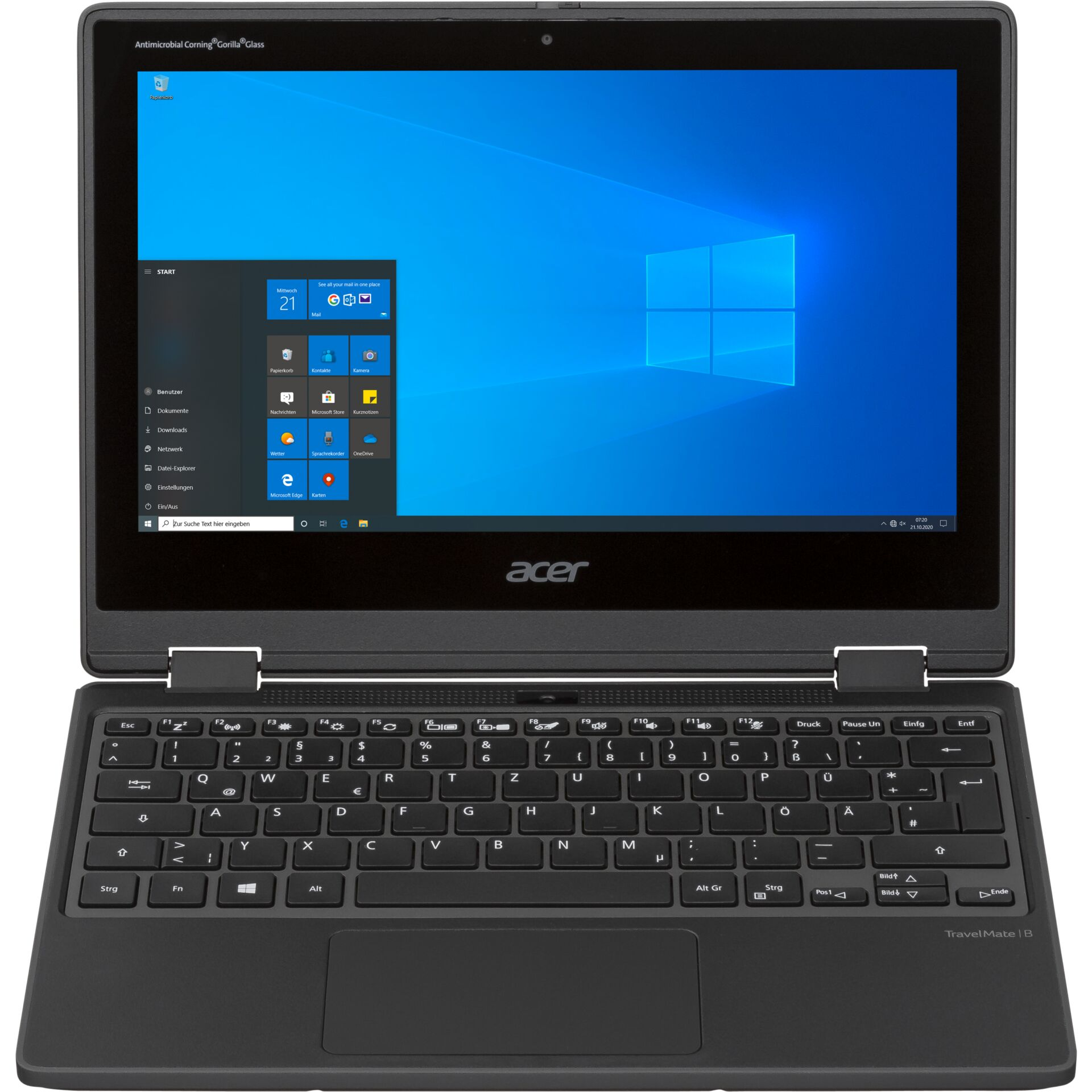 "Acer TM Spin B3 TM311RN-31-P5KK 29,46cm (11,6\"") 4GB 128GB Win 10"